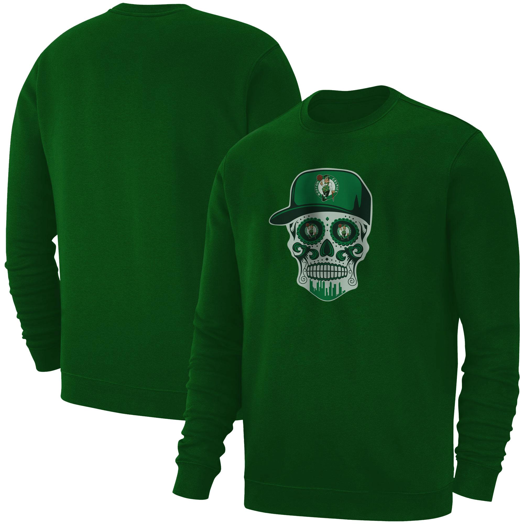 Celtics Skull  Basic (BSC-GRY-NP-448-NBA-BSTN-SKULL)