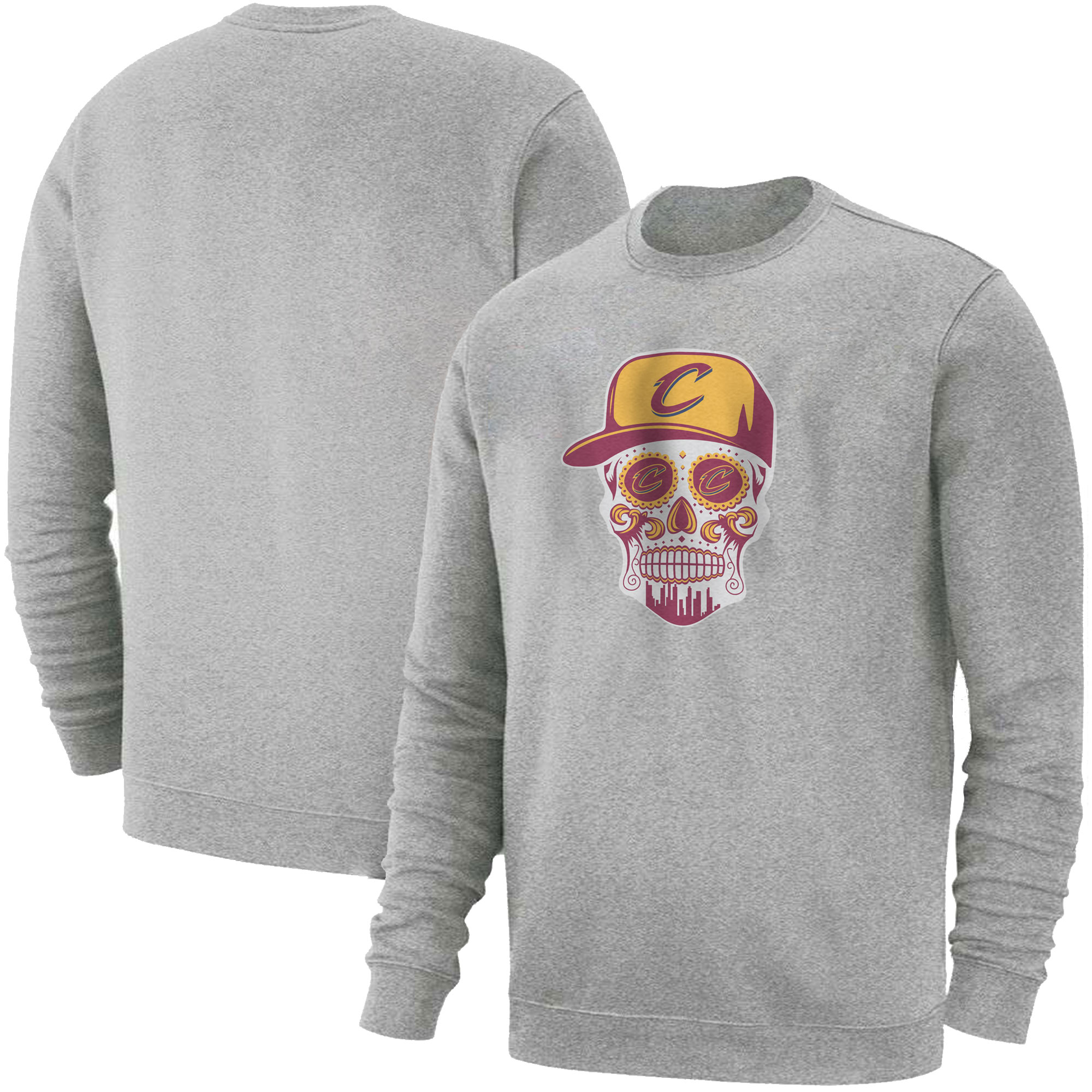 Cleveland  Skull Basic (BSC-GRY-NP-449-NBA-CLE-SKULL)