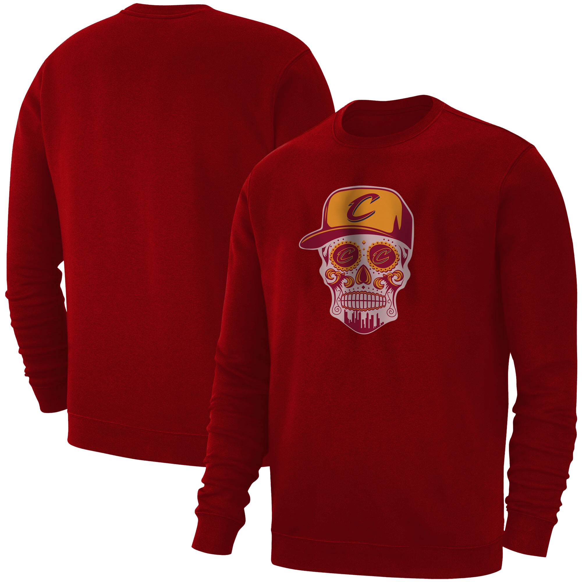 Cleveland  Skull Basic (BSC-RED-NP-449-NBA-CLE-SKULL)