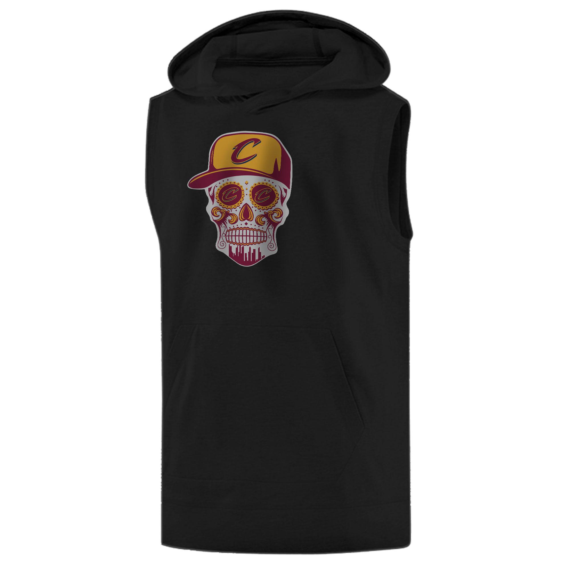 Cleveland Skull  Sleeveless (KLS-BLC-NP-449-NBA-CLE-SKULL)