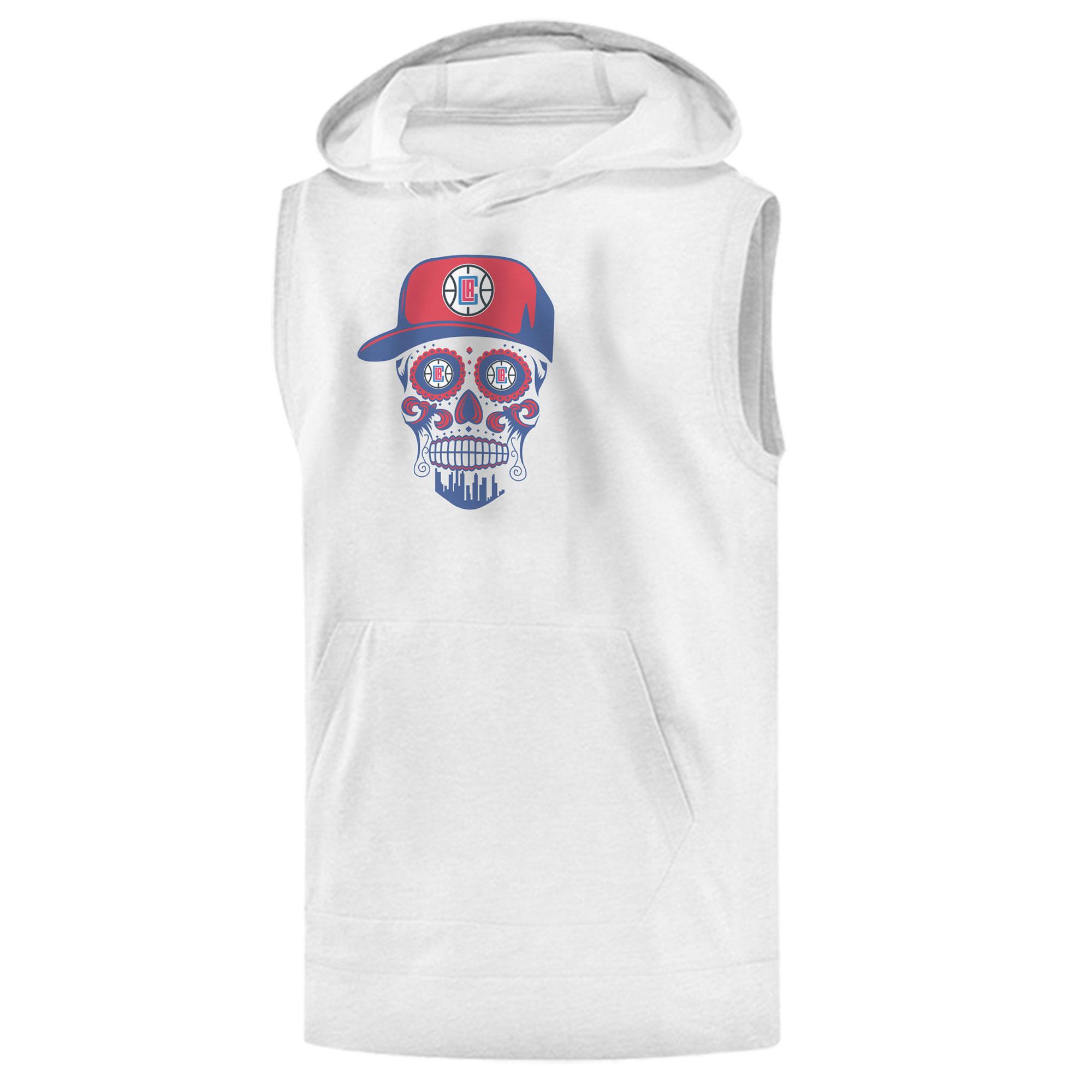 Clippers Skull Sleeveless (KLS-GRY-NP-450-CLIPPERS-SKULL)