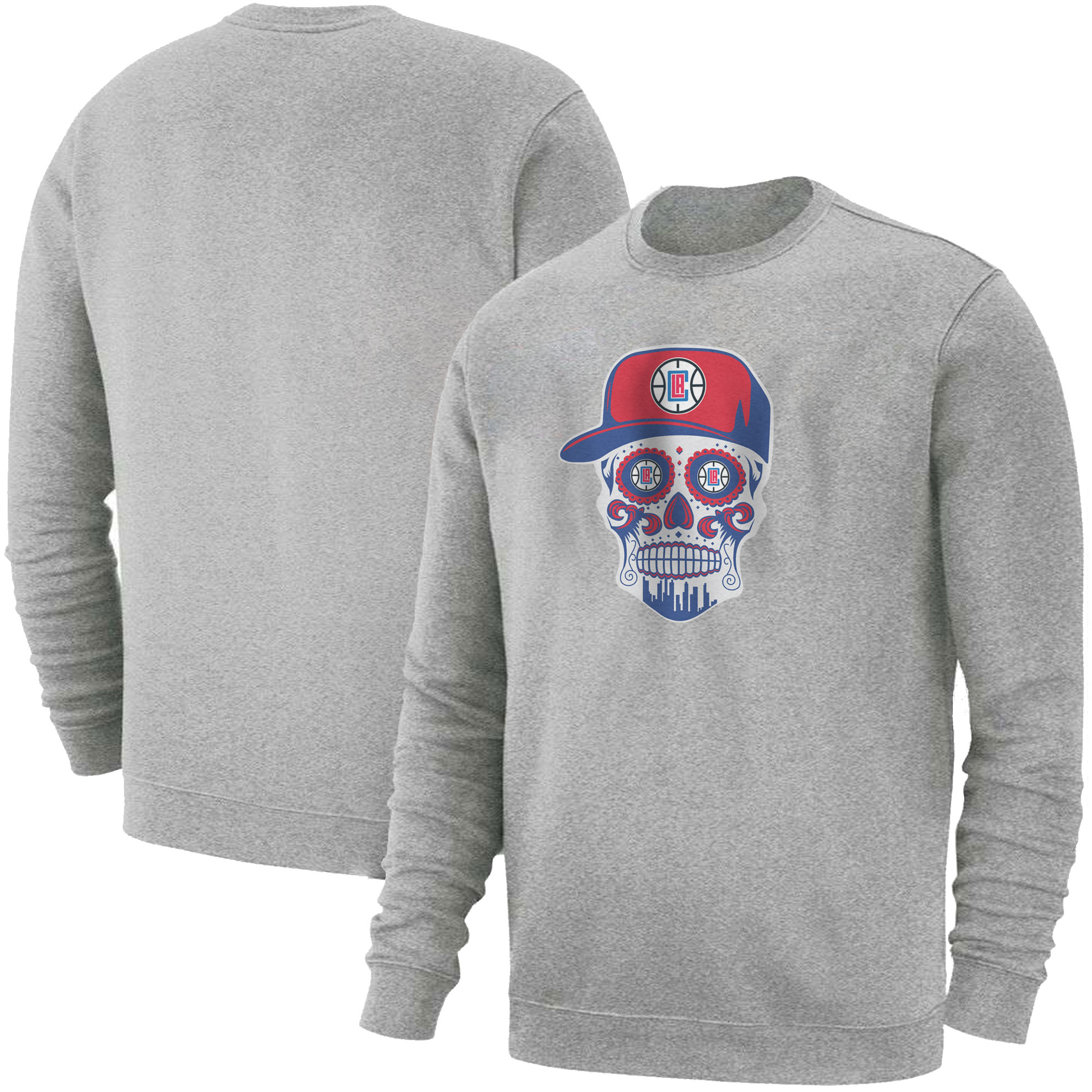 Clippers Skull Basic (BSC-GRY-NP-450-CLIPPERS-SKULL)