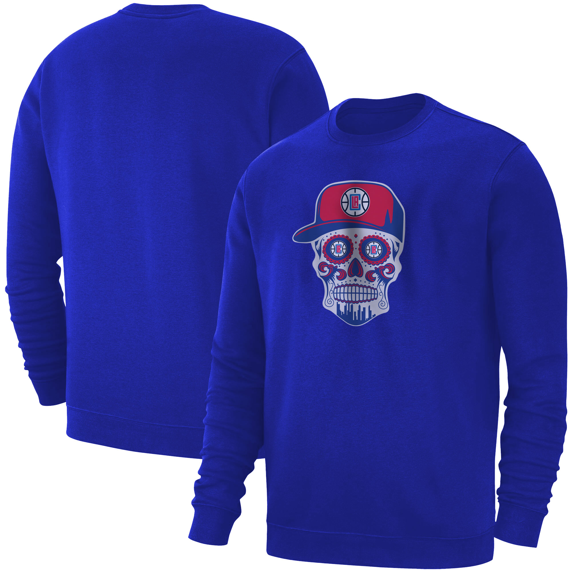 Clippers Skull Basic (BSC-BLU-NP-450-CLIPPERS-SKULL)