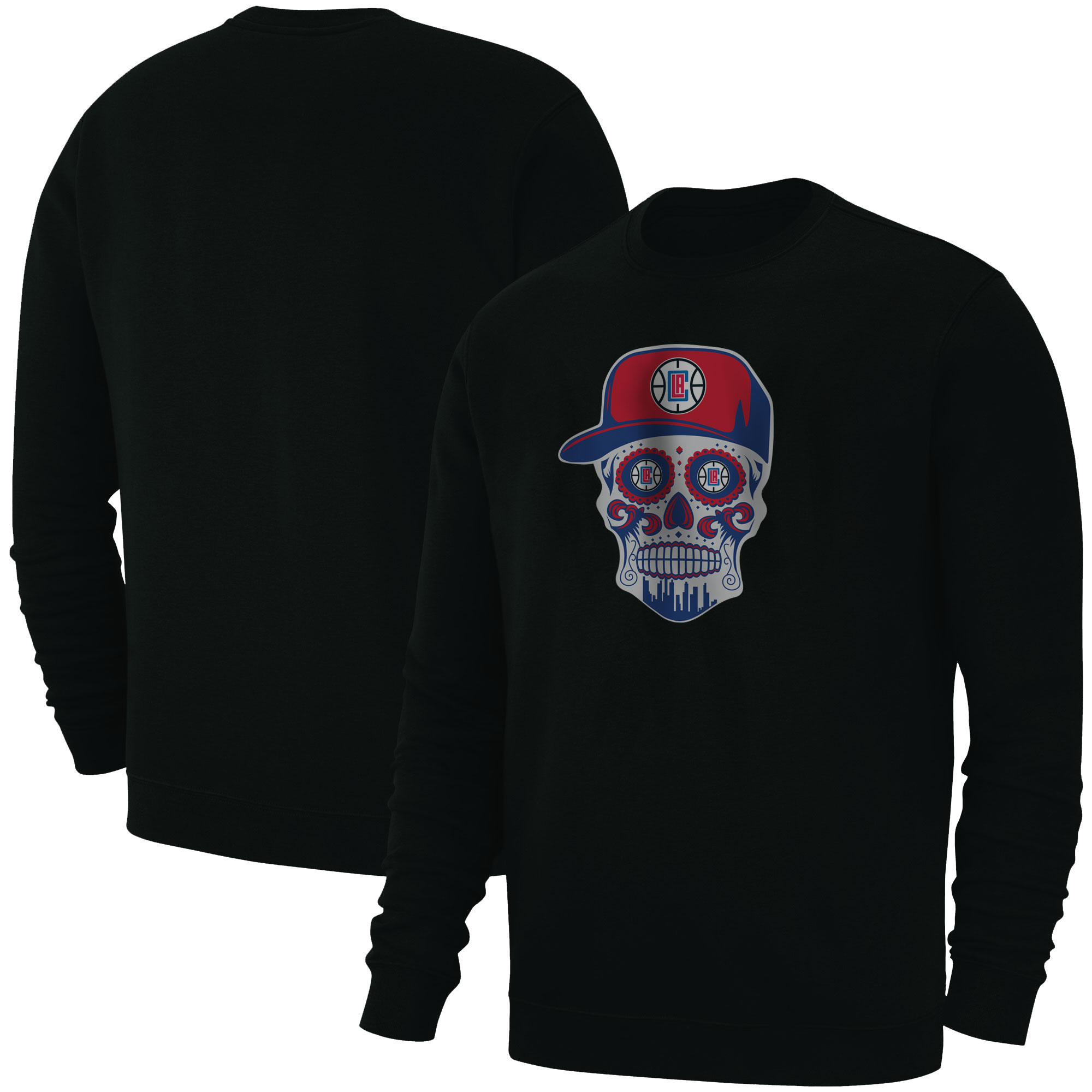 Clippers Skull Basic (BSC-BLC-NP-450-CLIPPERS-SKULL)