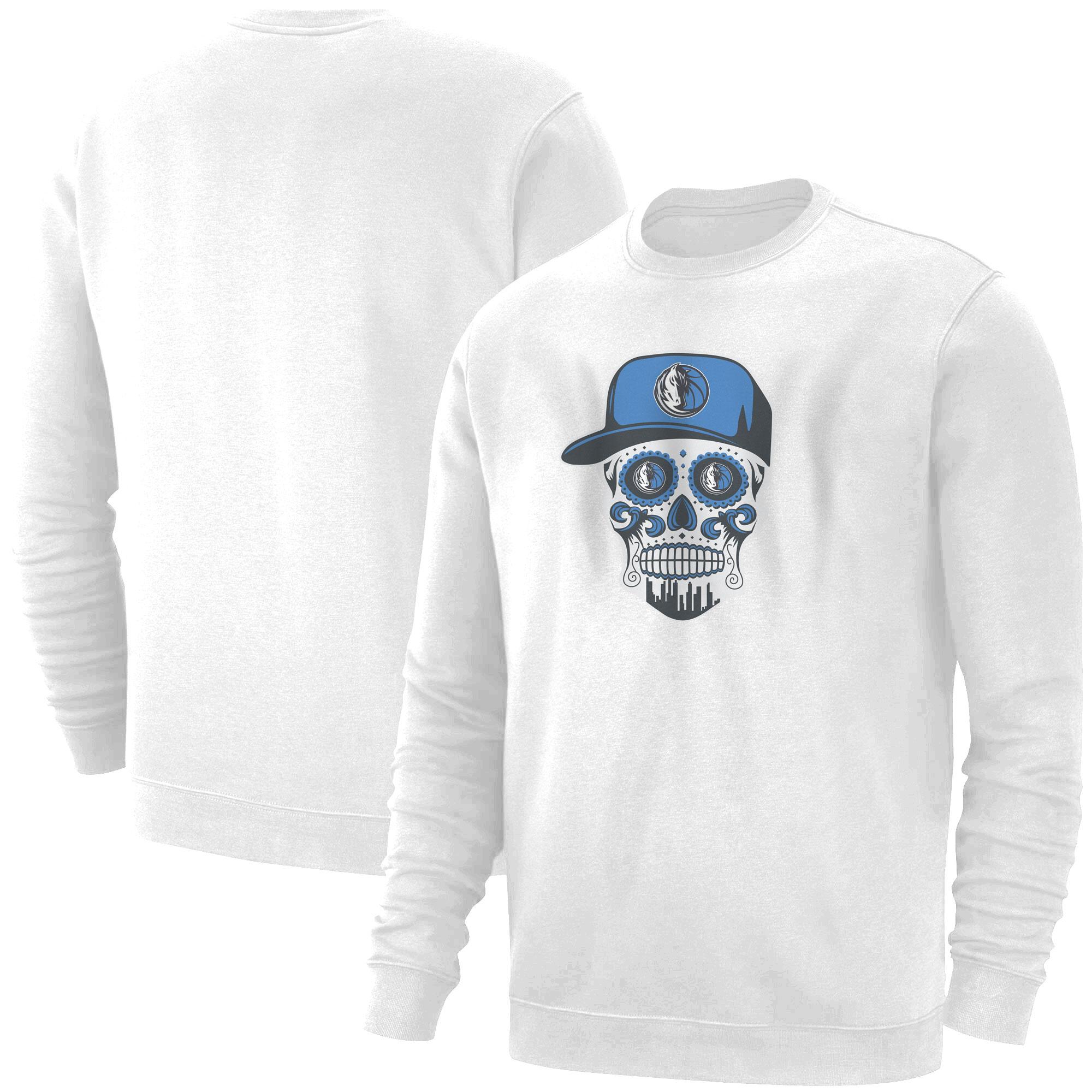 Dallas Skull Basic (BSC-WHT-NP-451-NBA-DLS-SKULL)