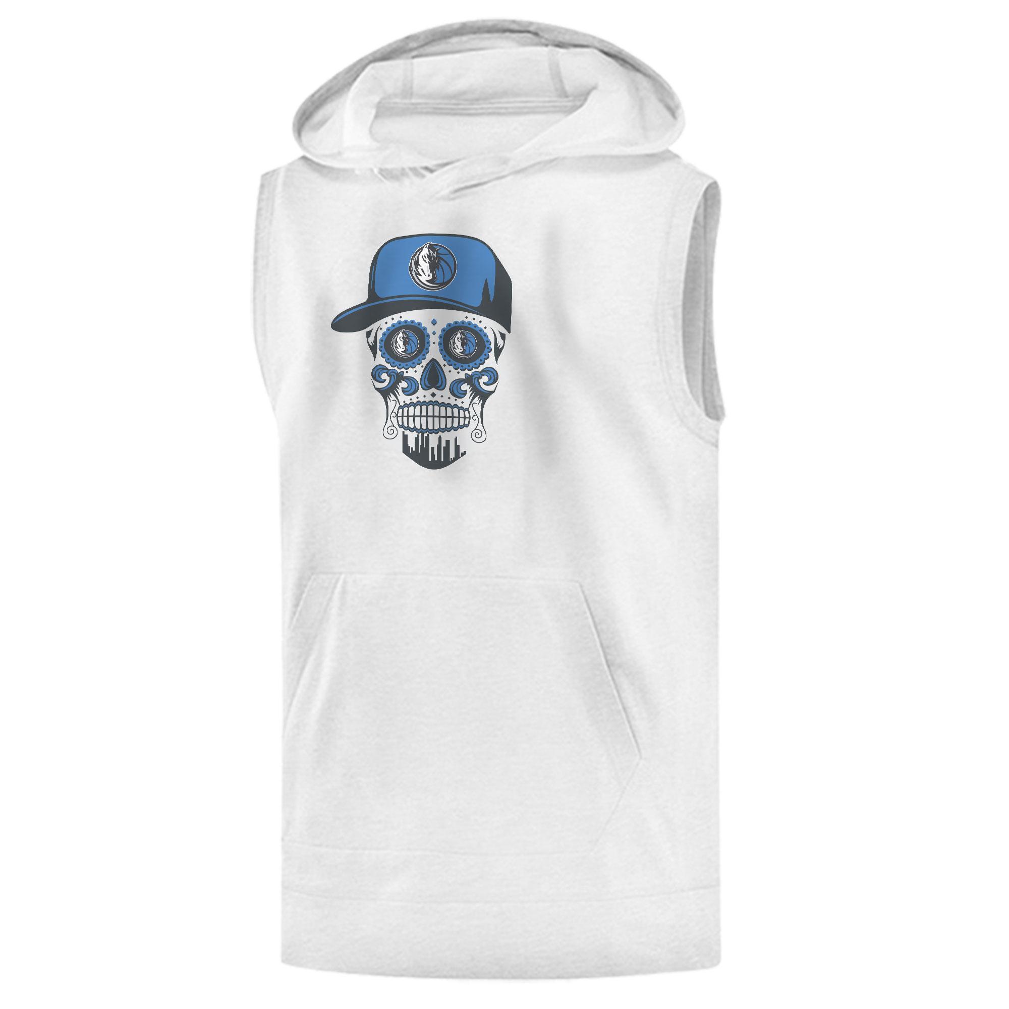 Dallas Skull Sleeveless (KLS-WHT-NP-451-NBA-DLS-SKULL)