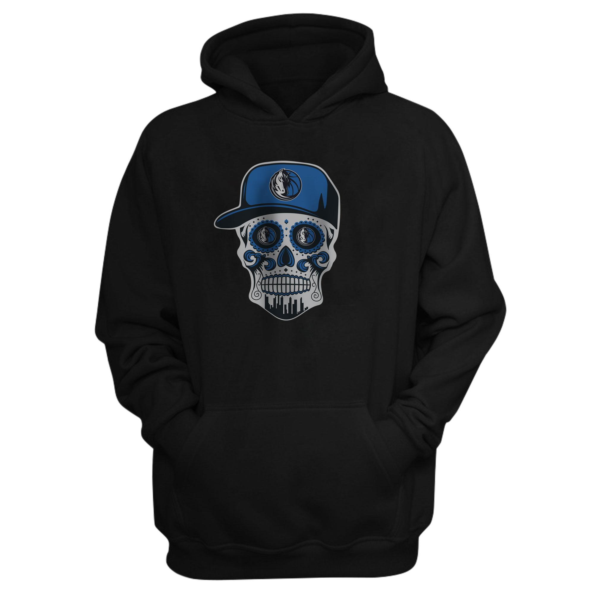 Dallas Skull Hoodie (HD-BLC-NP-451-NBA-DLS-SKULL)