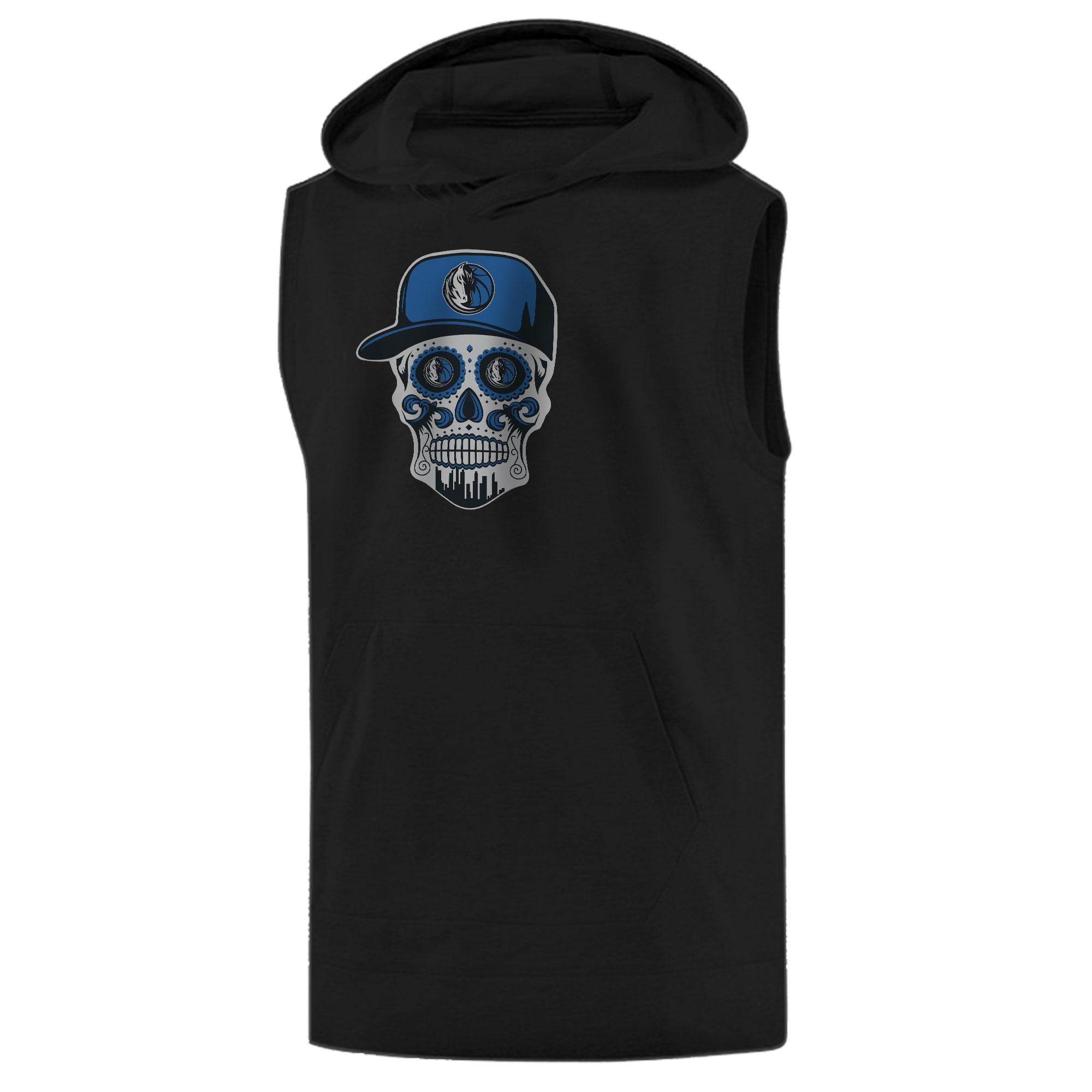Dallas Skull Sleeveless (KLS-BLC-NP-451-NBA-DLS-SKULL)