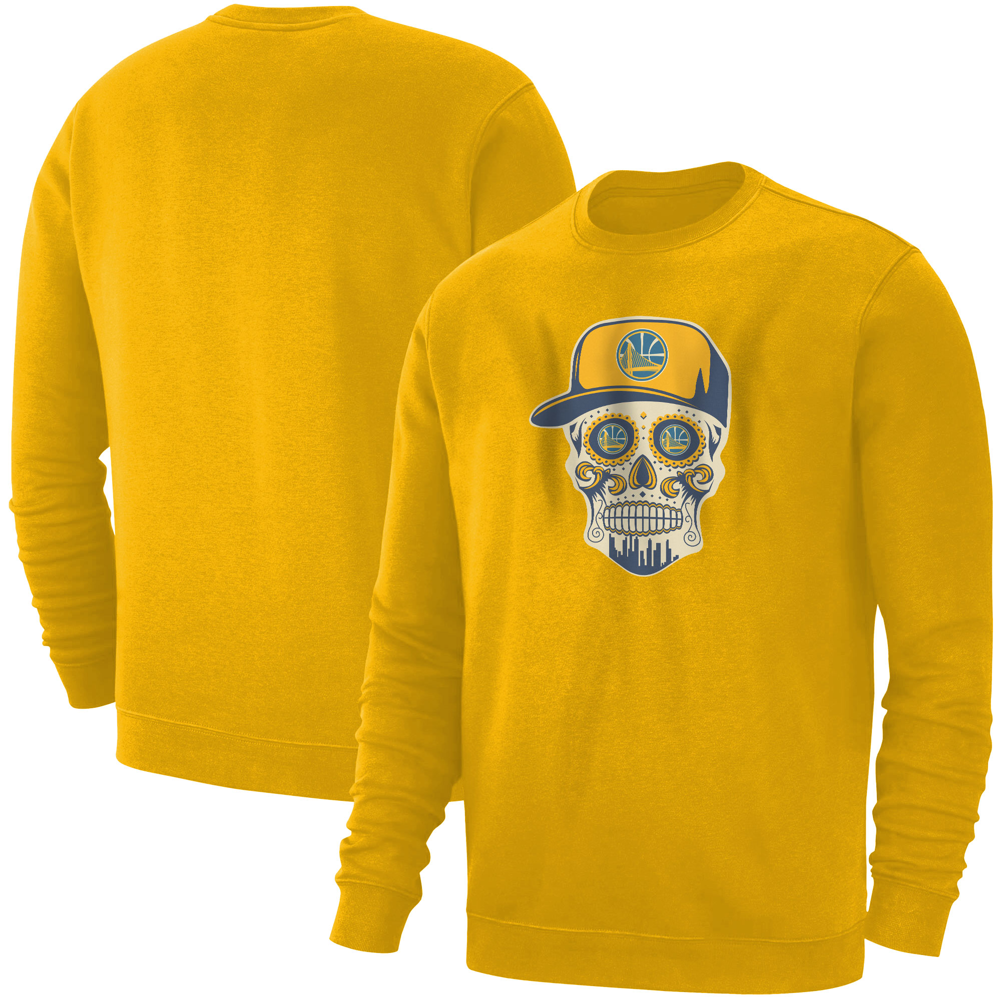 Warriors Skull Basic (BSC-YLW-NP-452-NBA-GSW-SKULL)