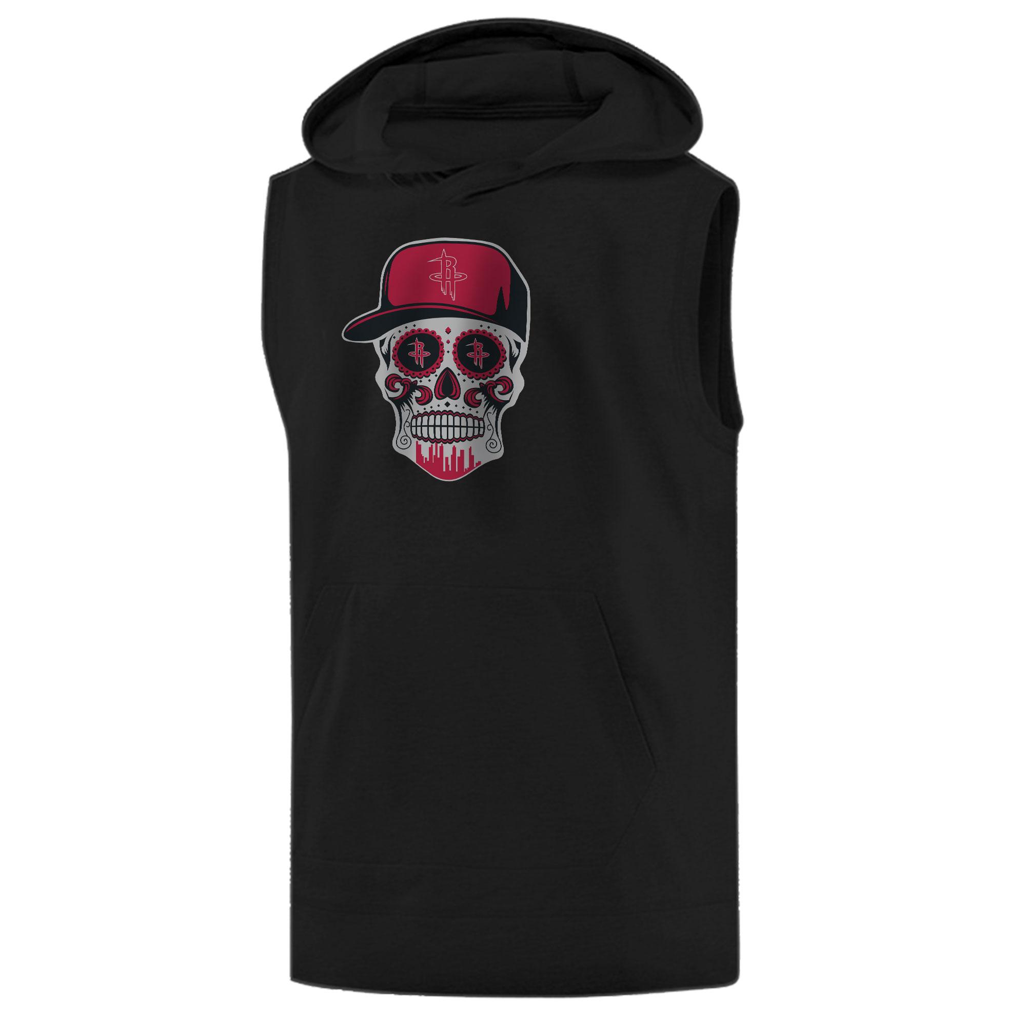 Rockets Skull Sleeveless (KLS-BLC-NP-453-NBA-HOU-SKULL)