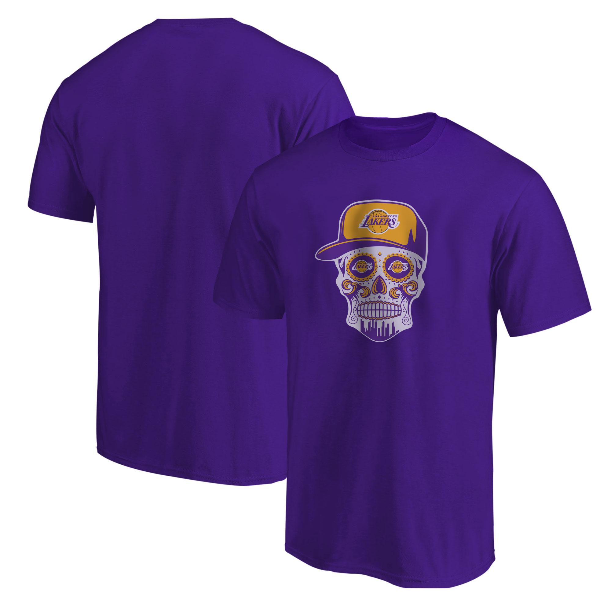Lakers Skull Tshirt (TSH-PRP-NP-454-NBA-LKRS-SKULL)