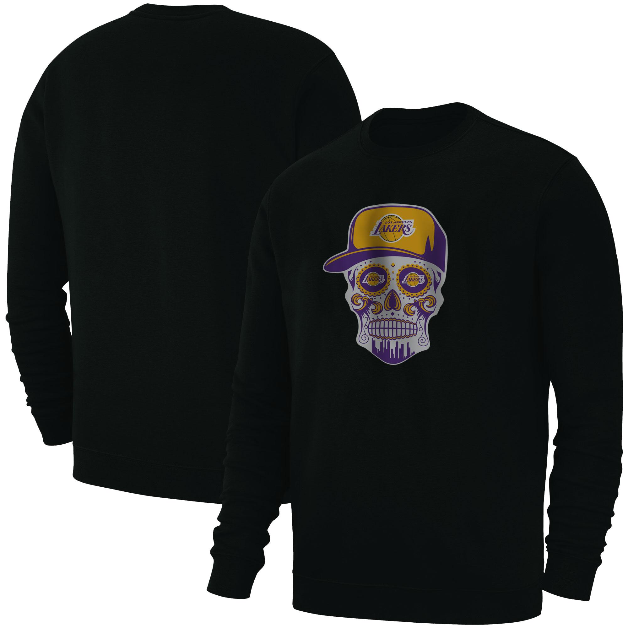 Lakers Skull Basic (BSC-BLC-NP-454-NBA-LKRS-SKULL)