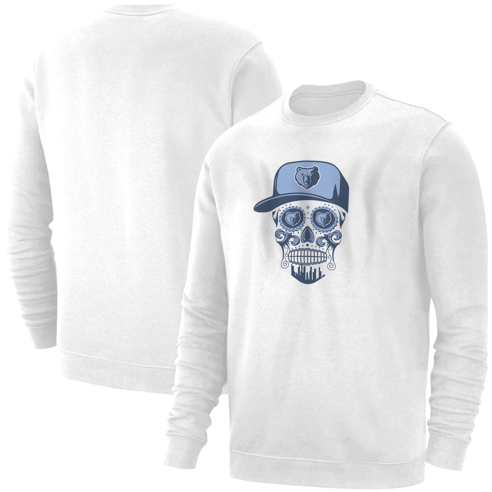 Memphis Skull Basic (BSC-WHT-NP-455-NBA-MEM-SKULL)