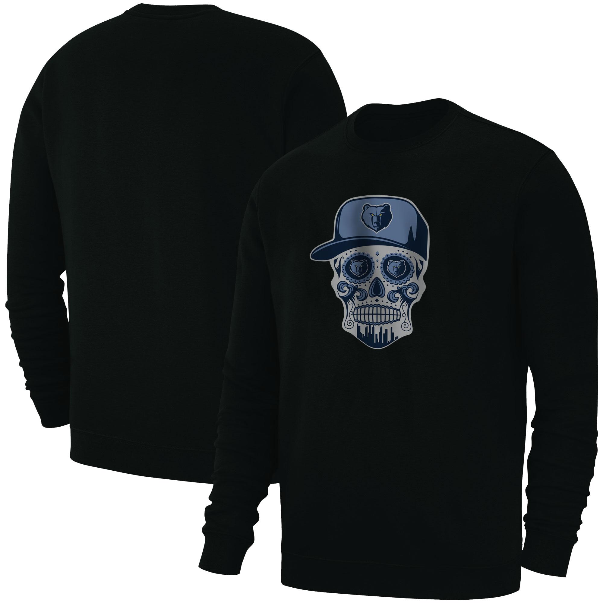 Memphis Skull Basic (BSC-BLC-NP-455-NBA-MEM-SKULL)