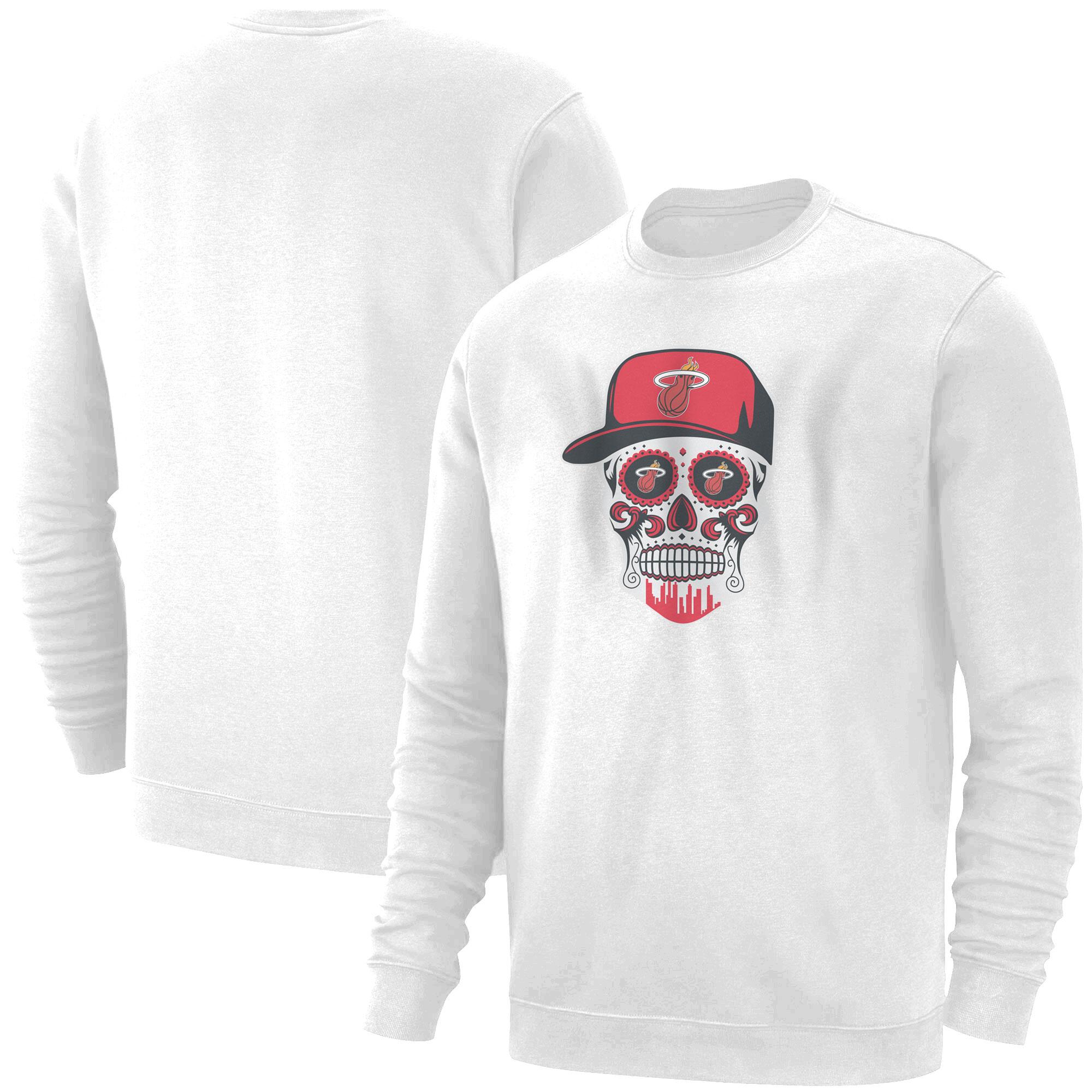 Heat Skull Basic (BSC-WHT-NP-456-NBA-MIAMI-SKULL)