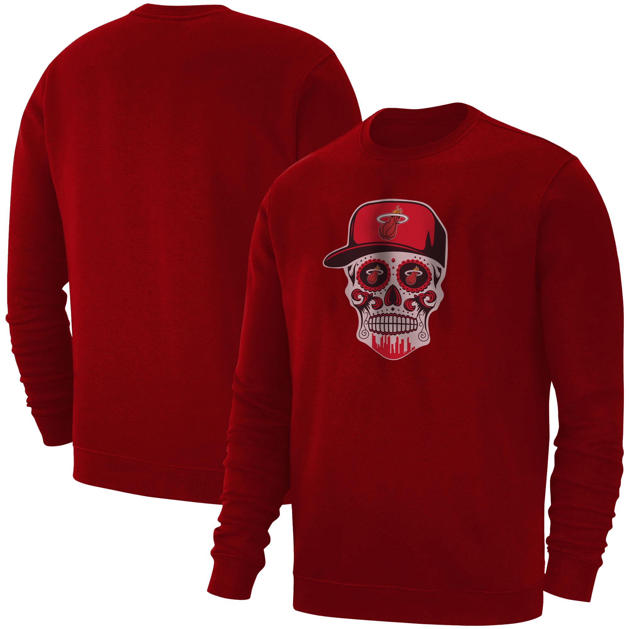 Heat Skull Basic (BSC-RED-NP-456-NBA-MIAMI-SKULL)