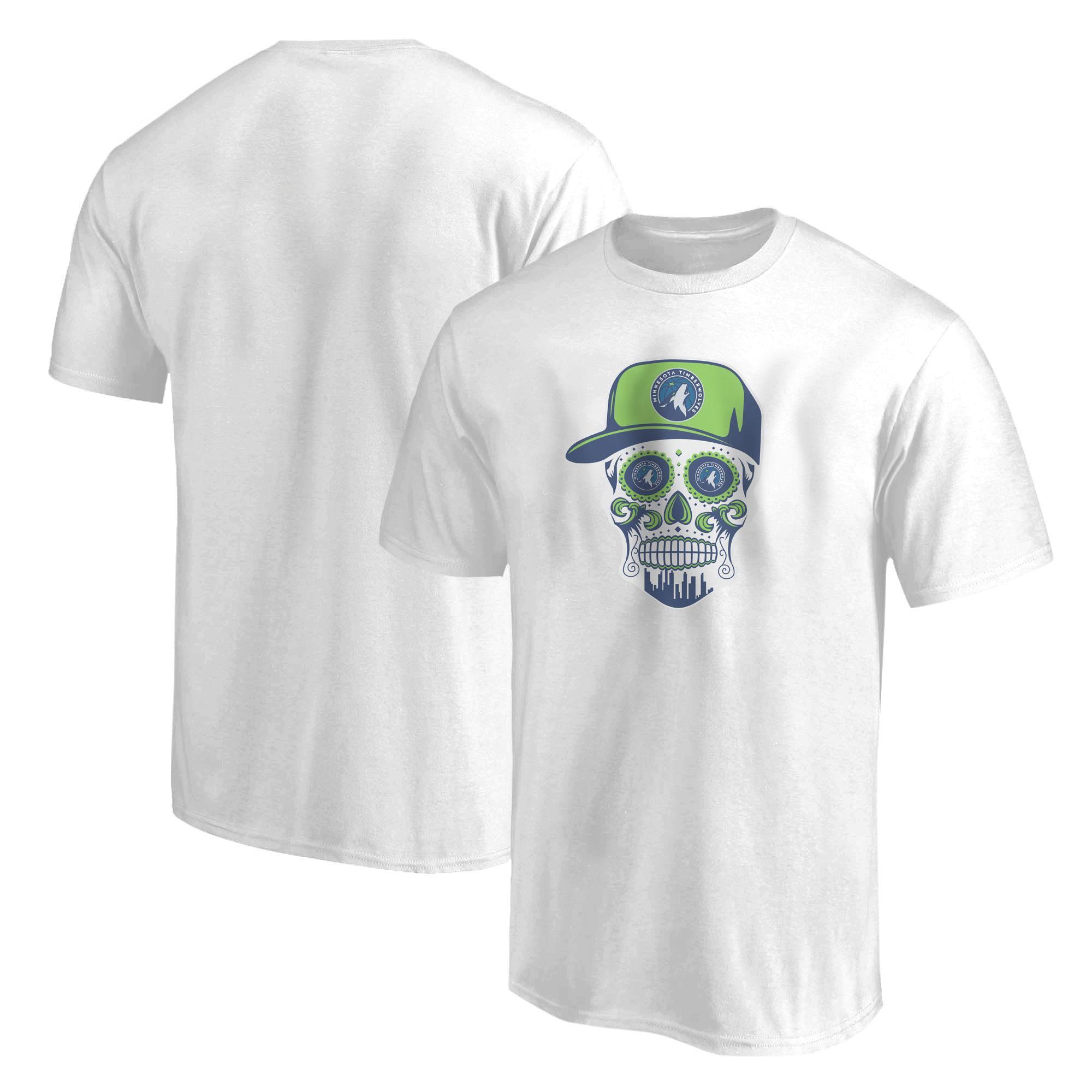 Minnesota Skull Tshirt (TSH-GRN-NP-457-MİN-SKULL)
