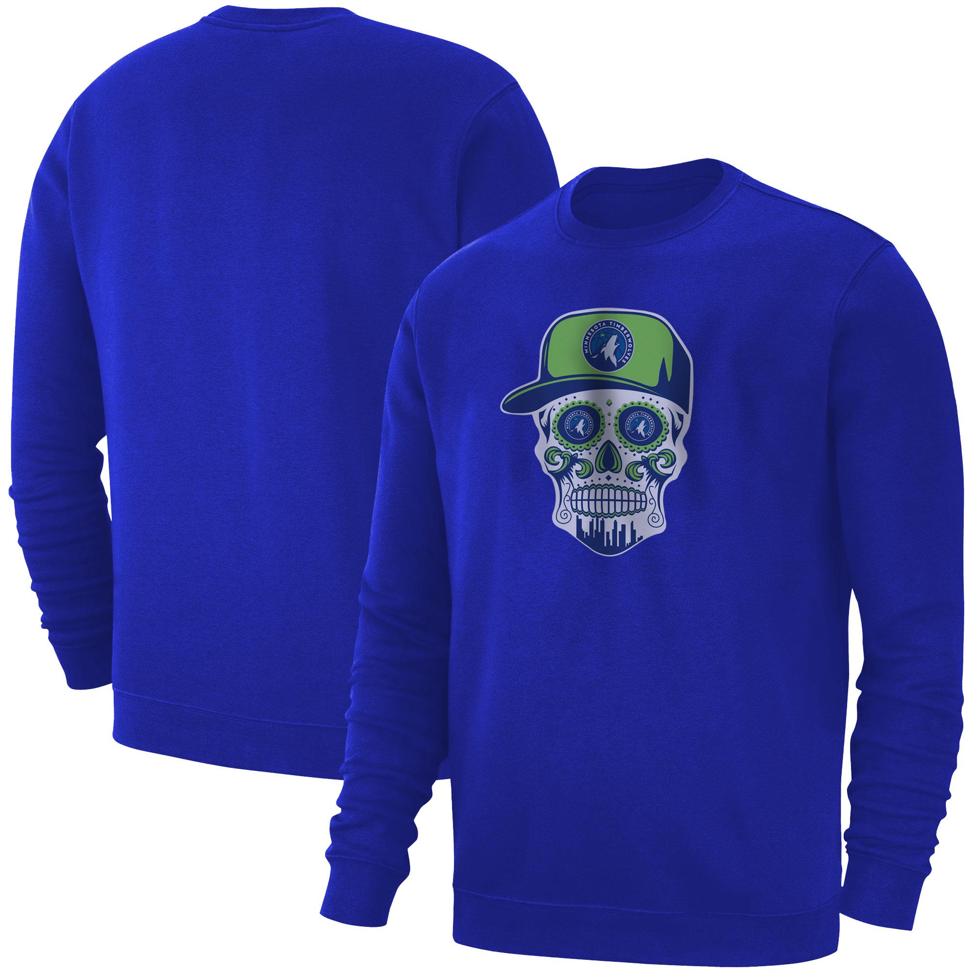 Minnesota Skull Basic (BSC-BLU-NP-457-NBA-MIN-SKULL)