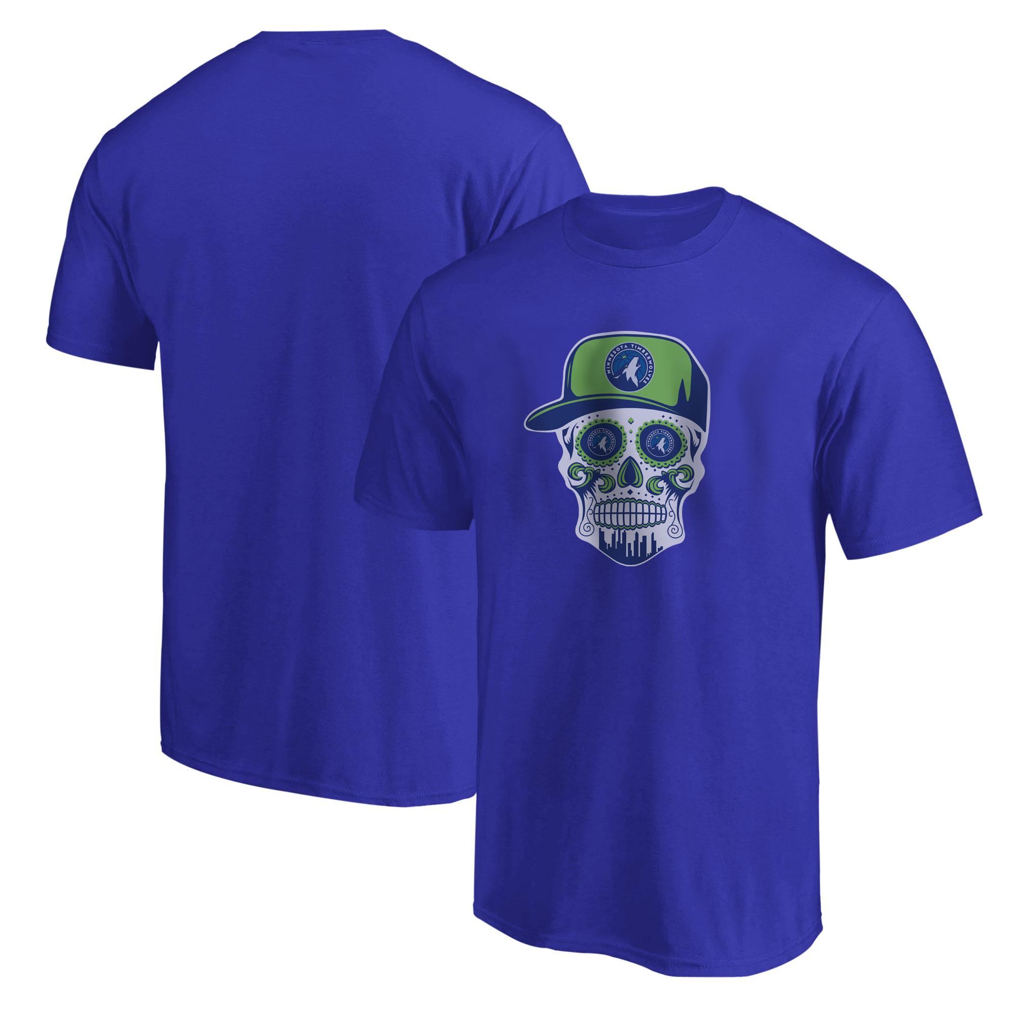 Minnesota Skull Tshirt (TSH-BLU-NP-457-MİN-SKULL)