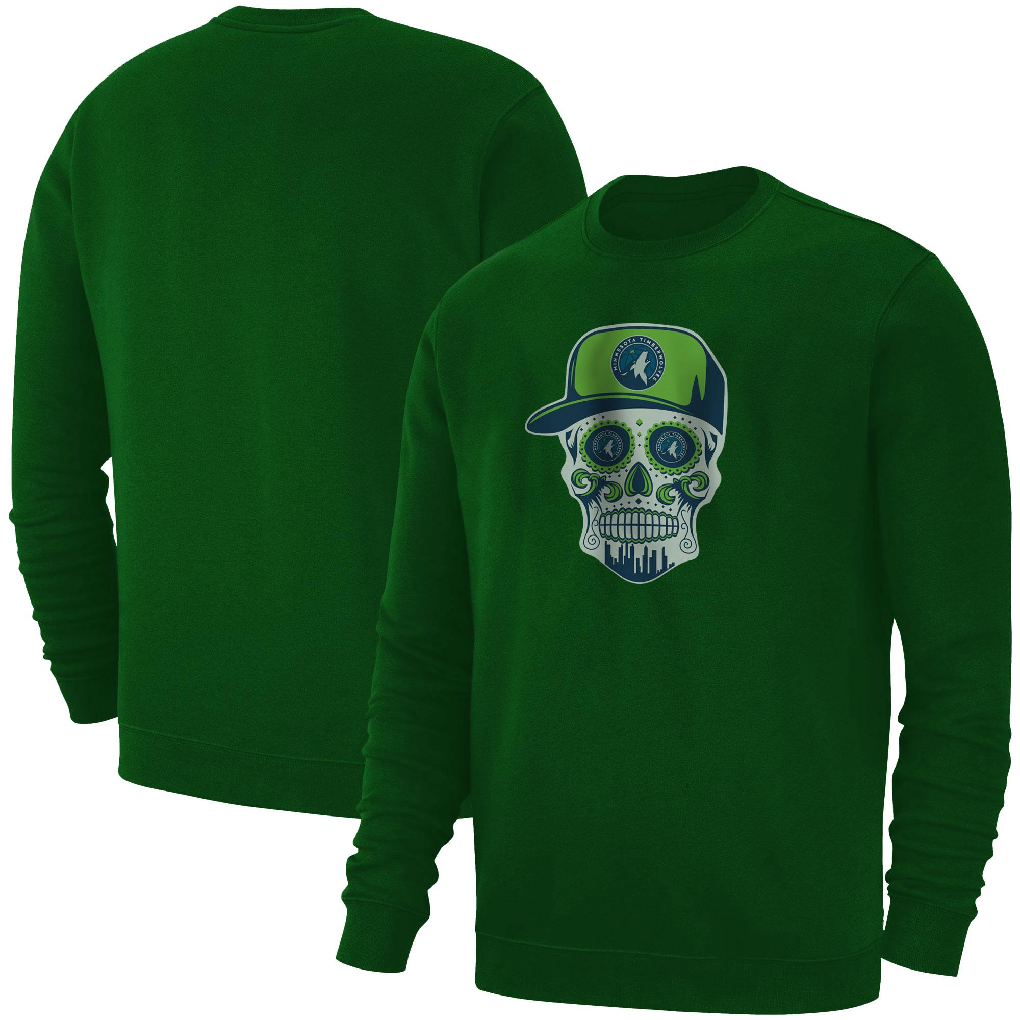 Minnesota Skull Basic (BSC-GRN-NP-457-NBA-MIN-SKULL)