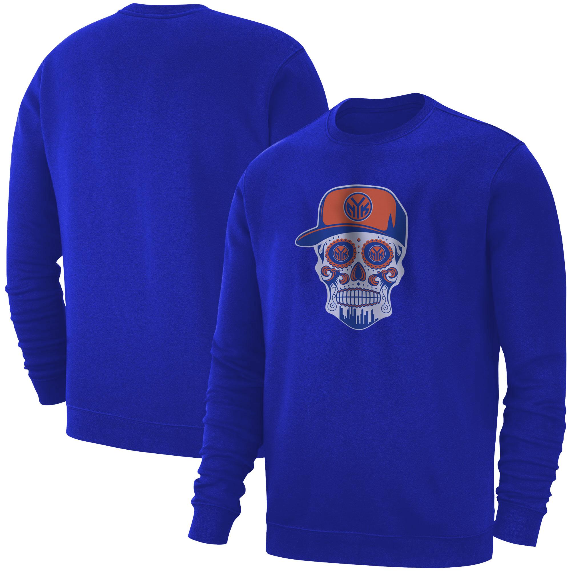 Knicks Skull  Basic (BSC-BLU-NP-458-NBA-NYK-SKULL)