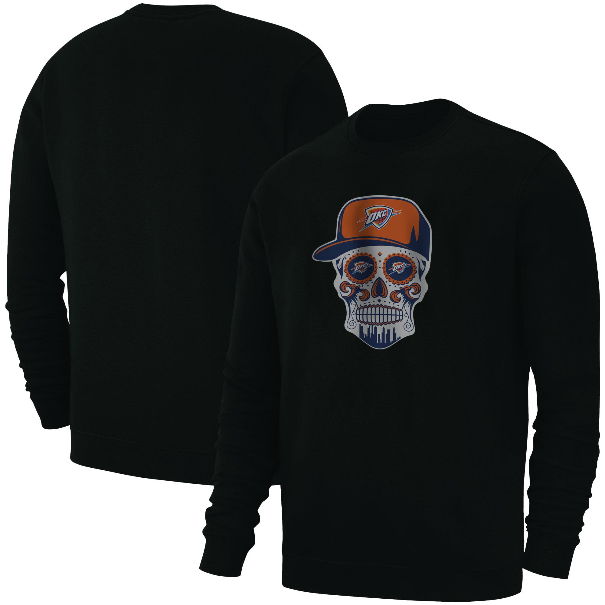 Thunder Skull  Basic (BSC-BLC-NP-459-NBA-OKC-SKULL)
