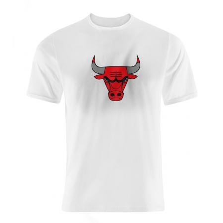 Chicago Bulls Team Logo Tshirt (TSH-BLC-NP-46-NBA-CHİ-LOGO)