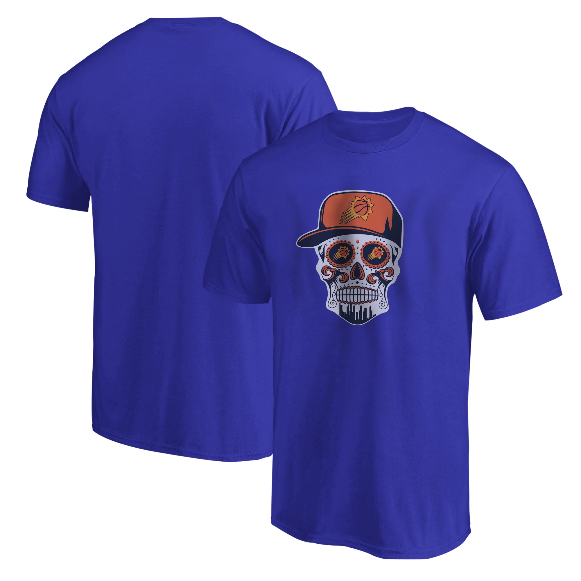 Phoenix Skull Tshirt (TSH-BLU-NP-461-NBA-PHO-SKULL)