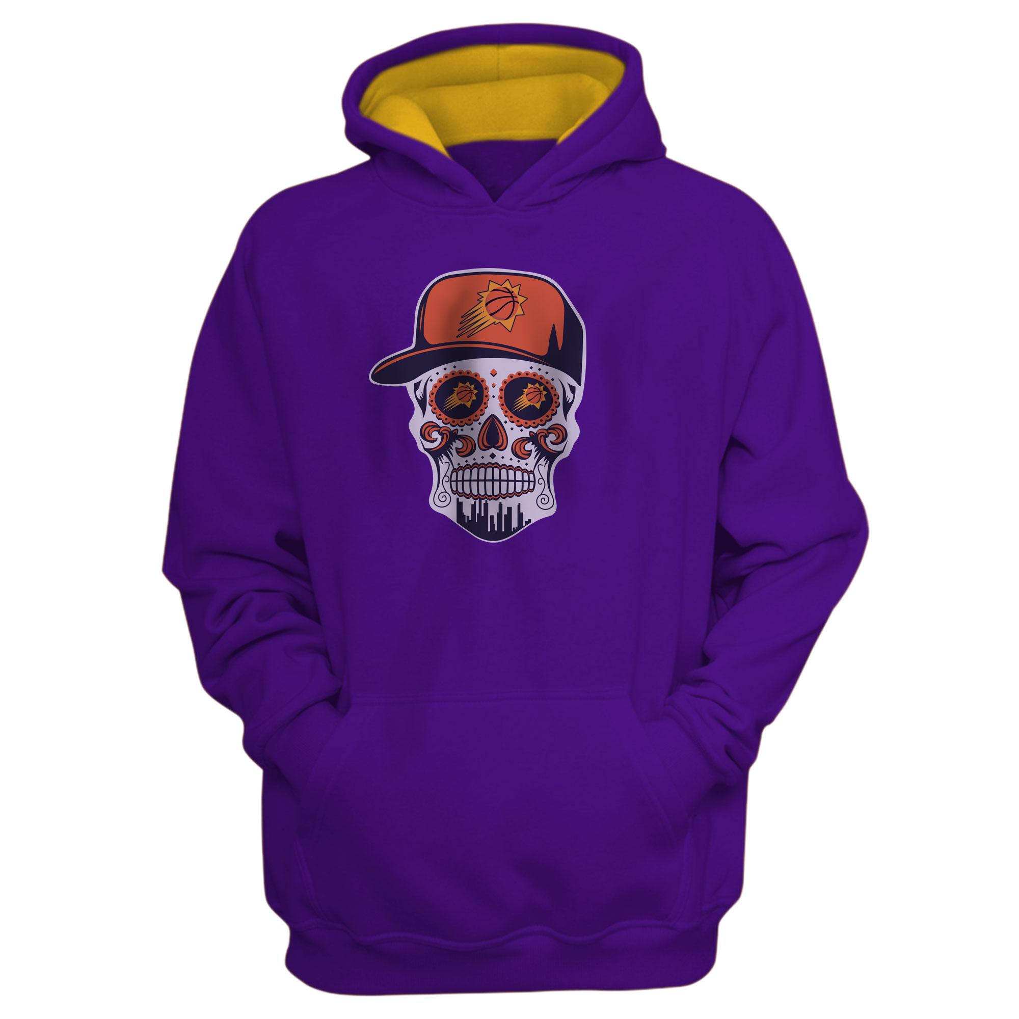 Phoenix Skull Hoodie (HD-PRP-NP-461-NBA-PHO-SKULL)