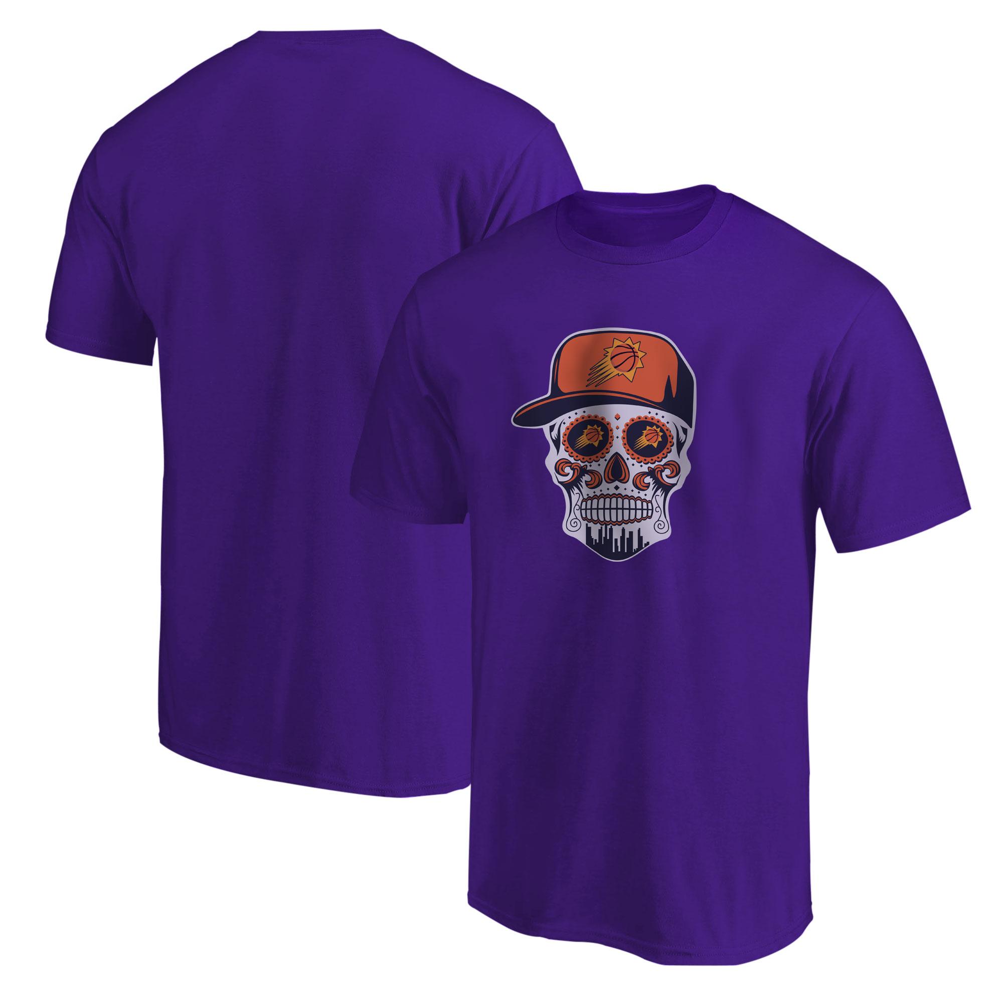 Phoenix Skull Tshirt (TSH-PRP-NP-461-NBA-PHO-SKULL)