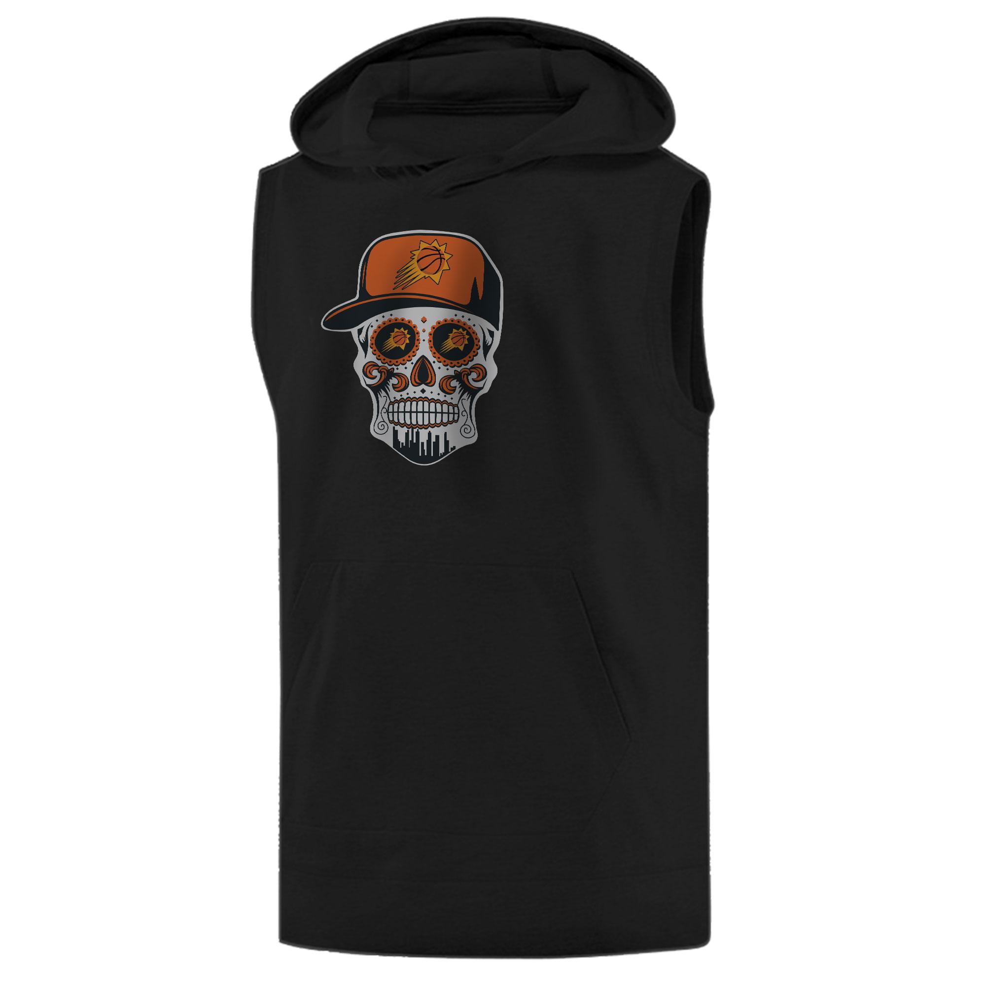 Phoenix Suns Phoenix Skull Sleeveless (KLS-BLC-NP-461-NBA-PHO-SKULL)