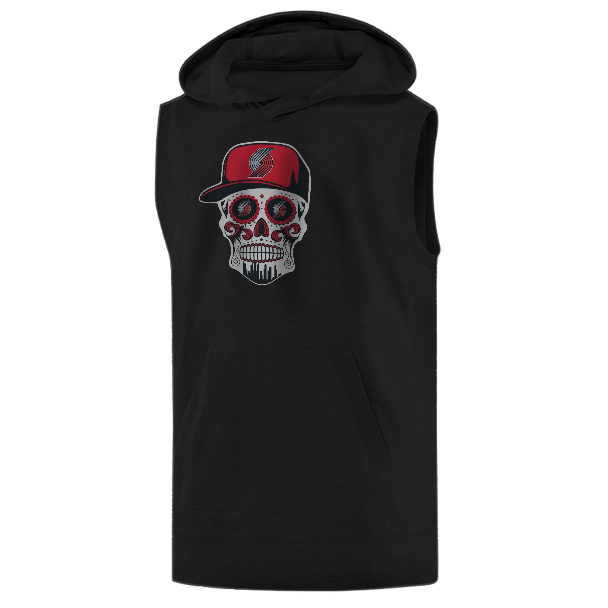 Portland Skull Sleeveless (KLS-BLC-NP-462-NBA.POR.SKULL)