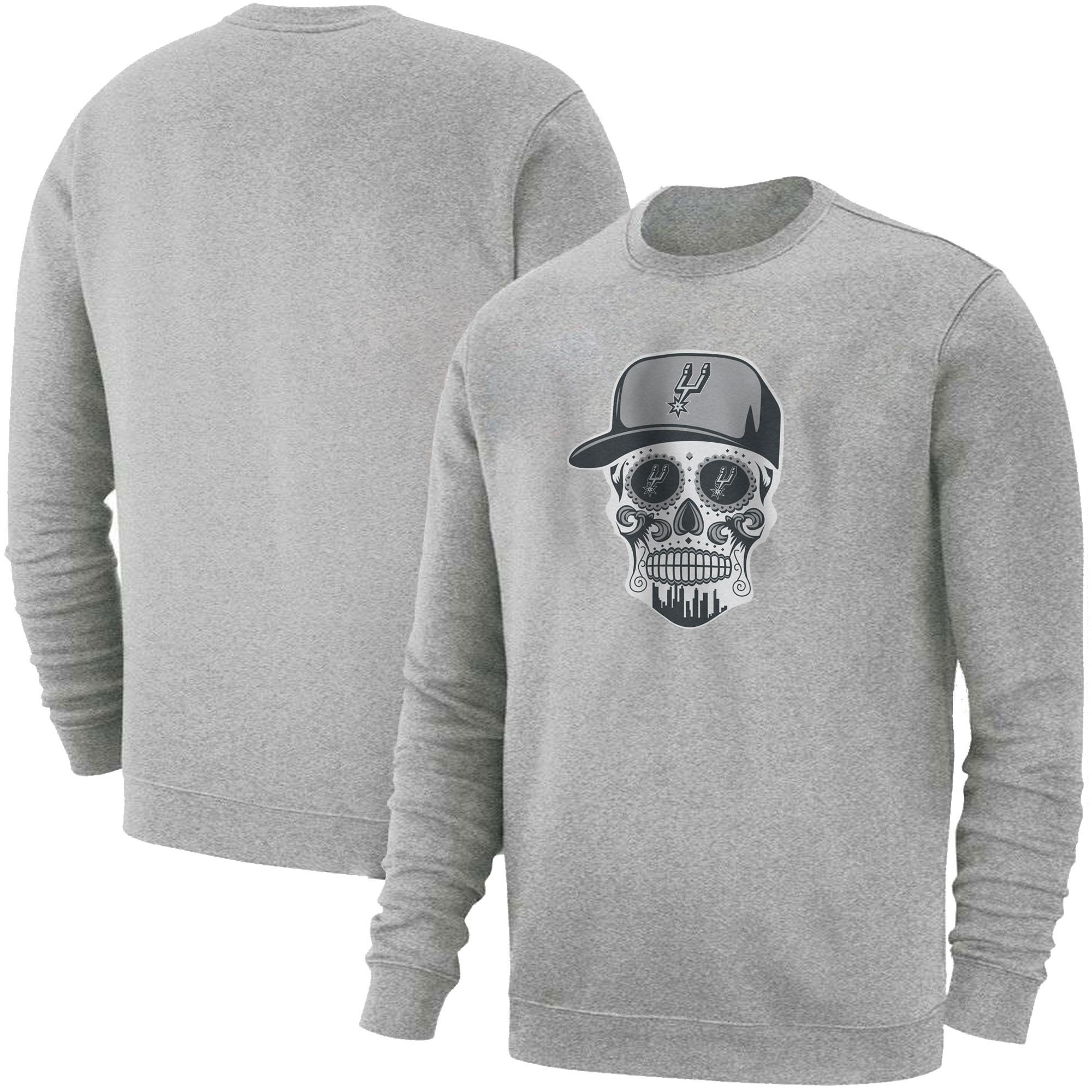 Spurs Skull Basic (BSC-GRY-NP-464-SPURS-SKULL)