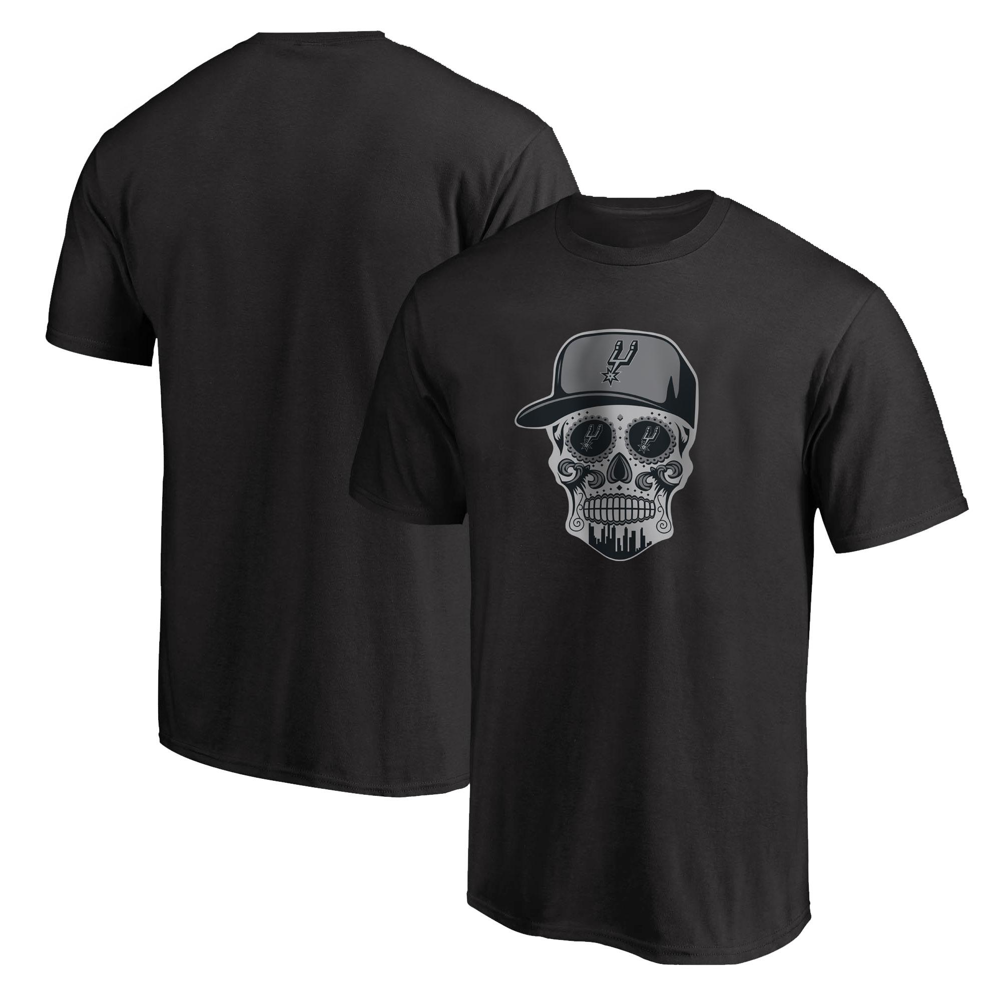 Spurs Skull Tshirt (TSH-BLC-NP-464-SPURS-SKULL)