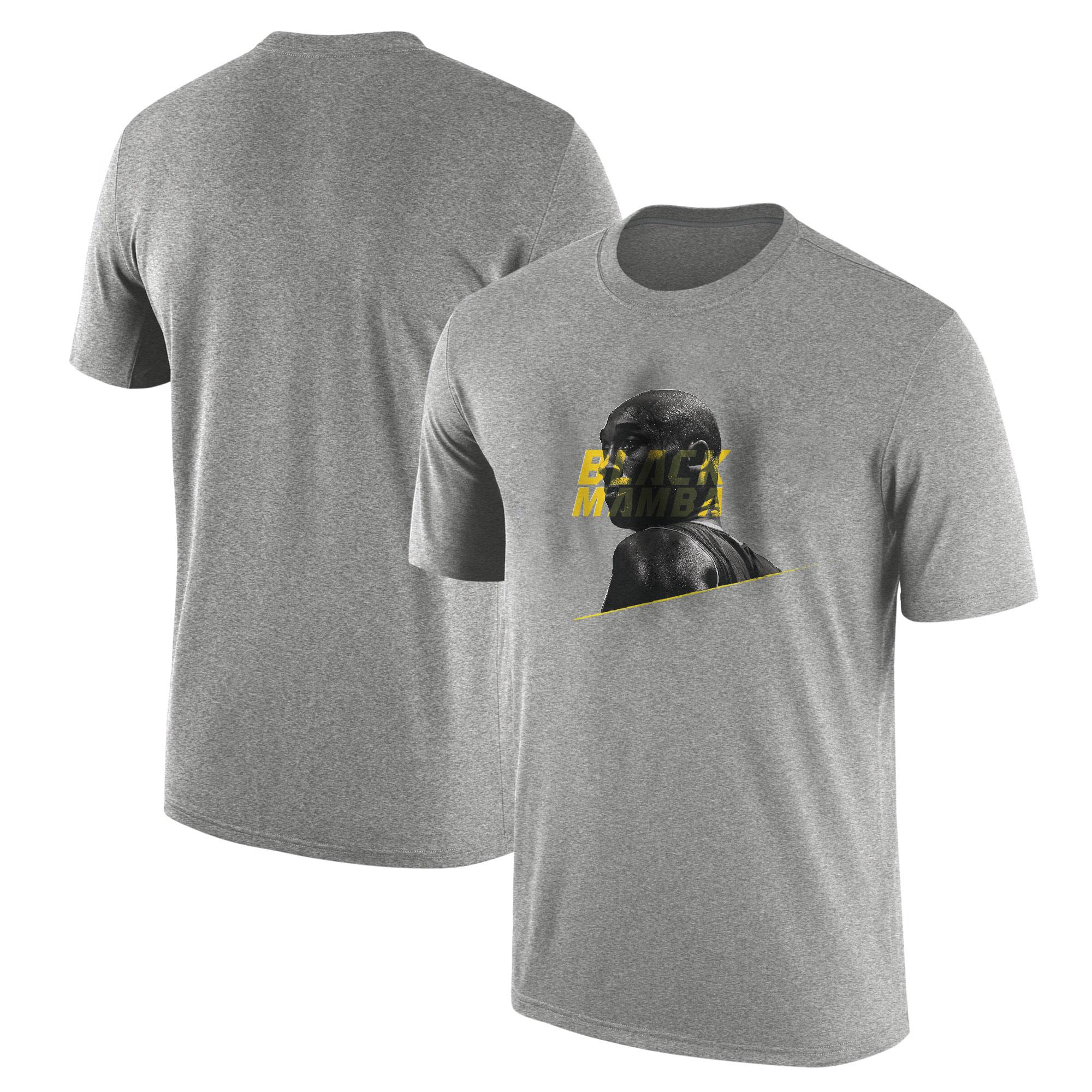Kobe Bryant Tshirt (TSH-GRY-PLYR-477-BLACK.MAMBA)