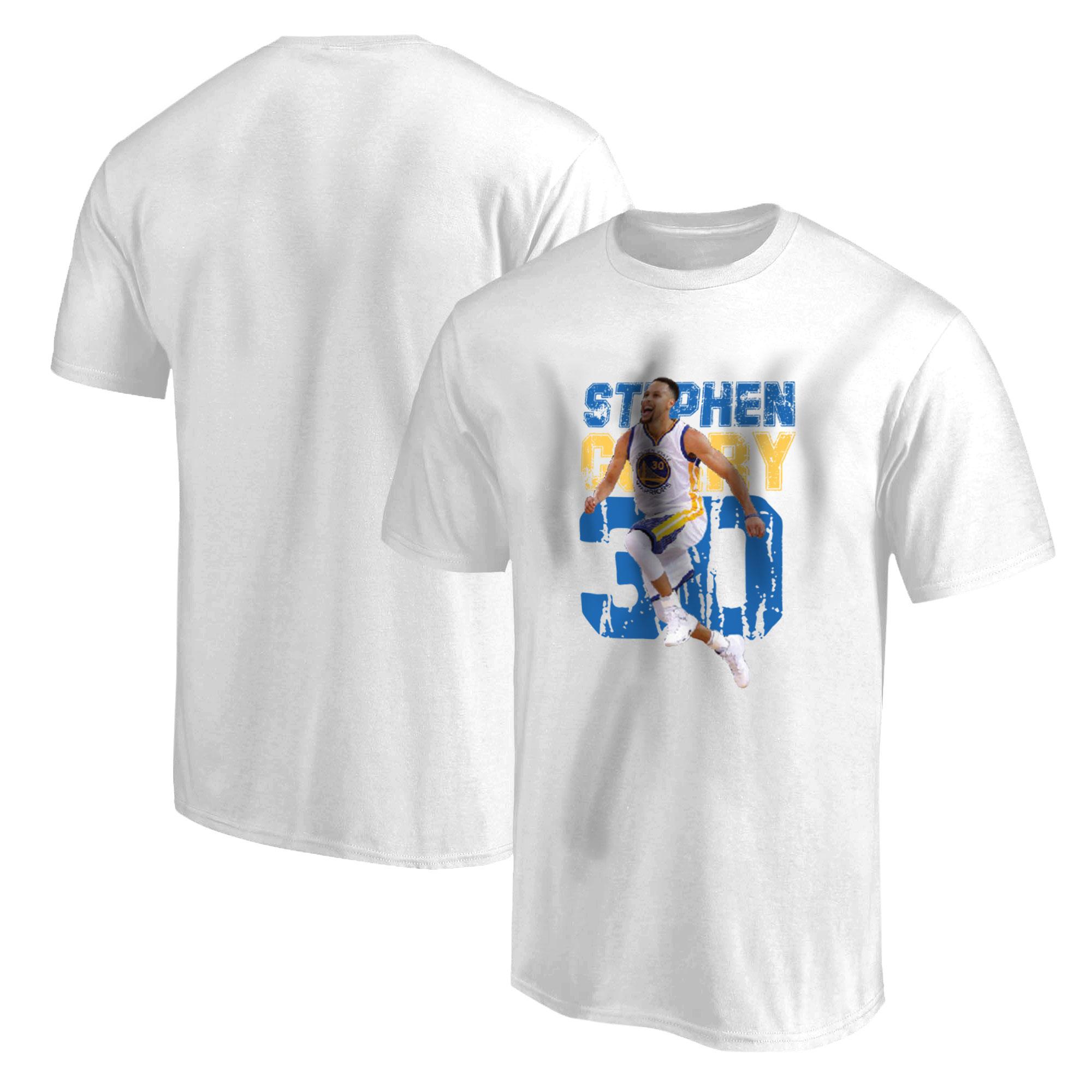 Stephen Curry Tshirt (TSH-WHT-478-PLYR-GSW-CURRY)
