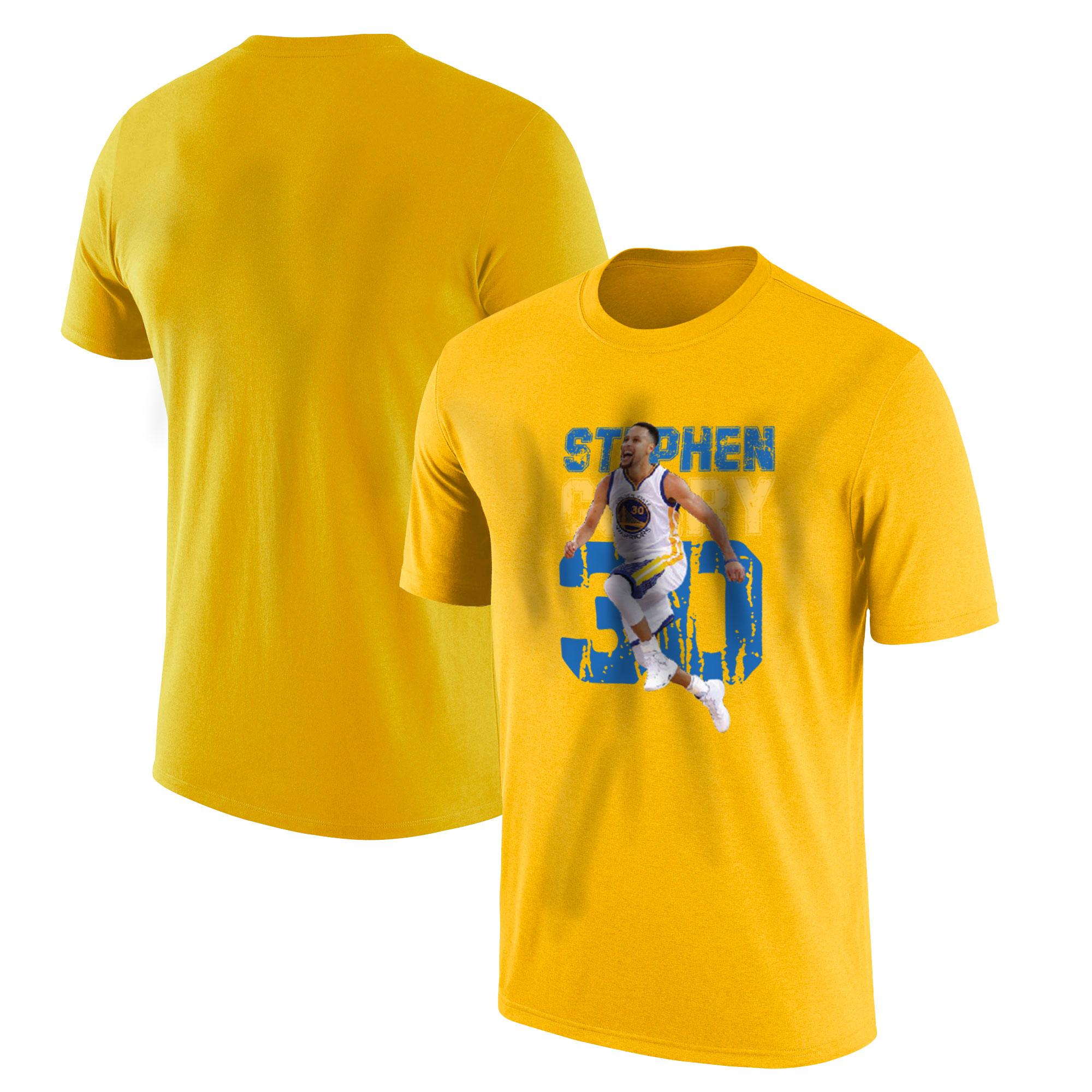 Stephen Curry Tshirt (TSH-YLW-478-PLYR-GSW-CURRY)