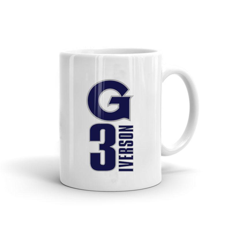 Allen Iverson Mug (MUG-iverson-gtown)