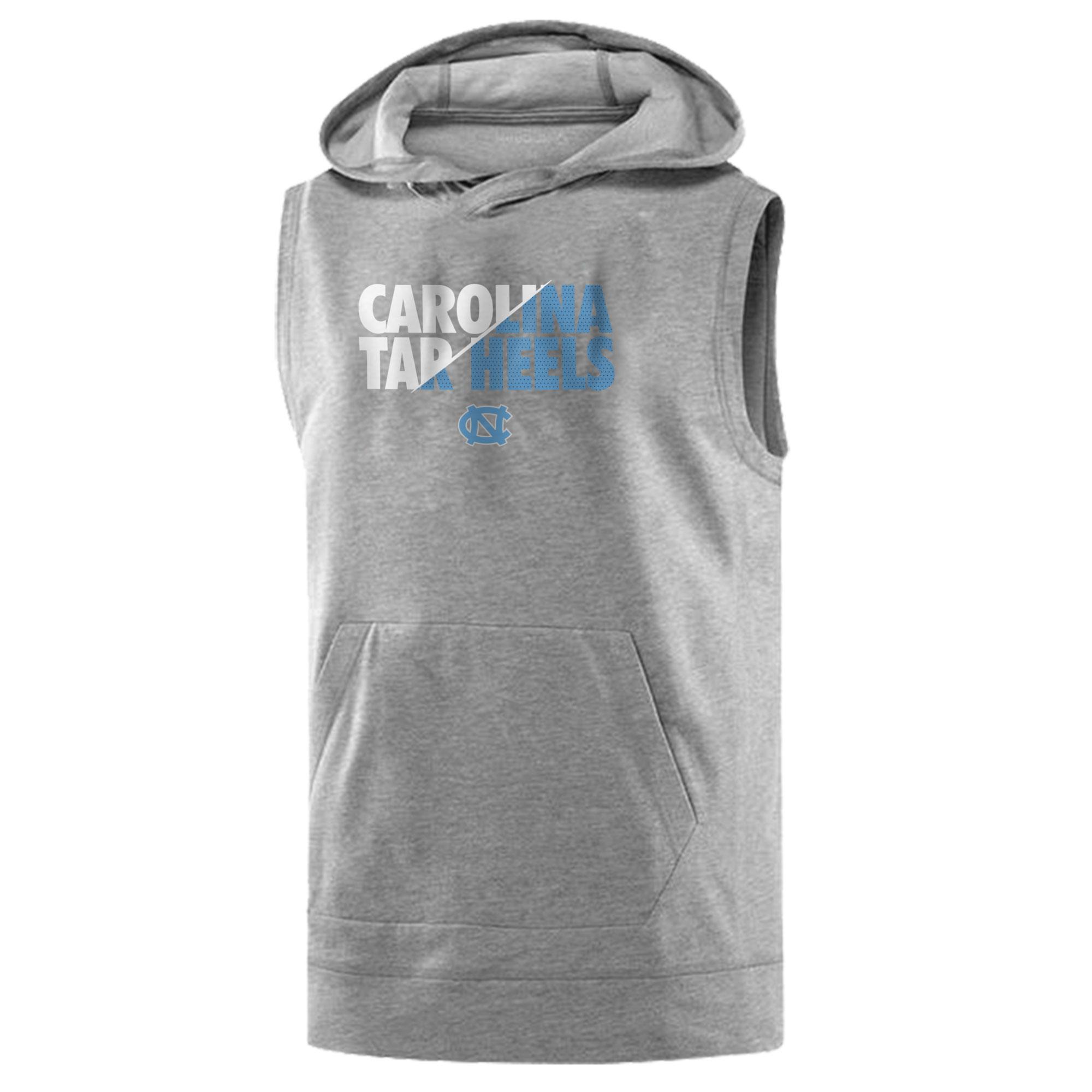 Carolina Tar Heels Sleeveless (KLS-GRY-486-NCAA-CAROLINA-HEELS)
