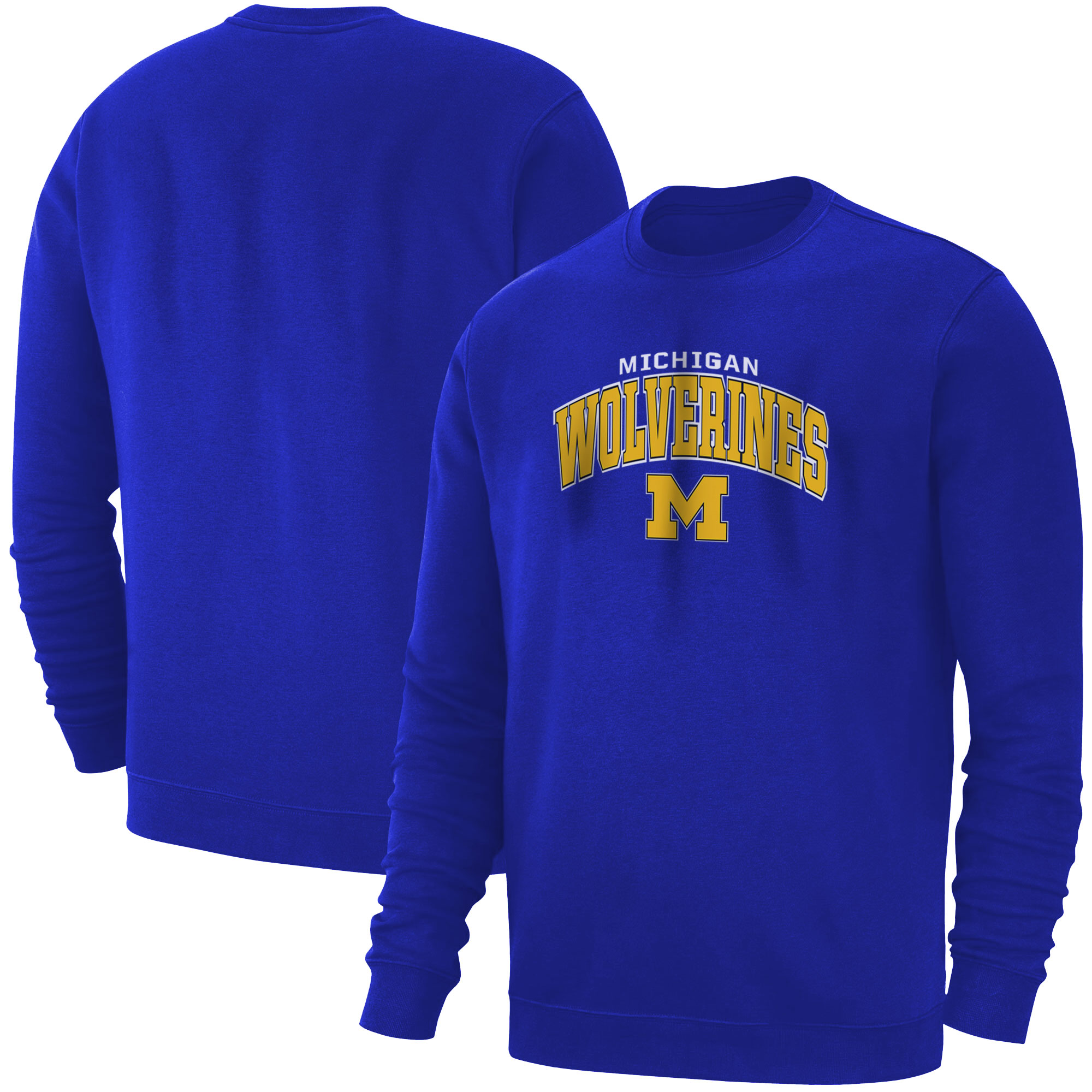 Michigan Wolverines Basic (BSC-BLU-488-NBA-MNW)