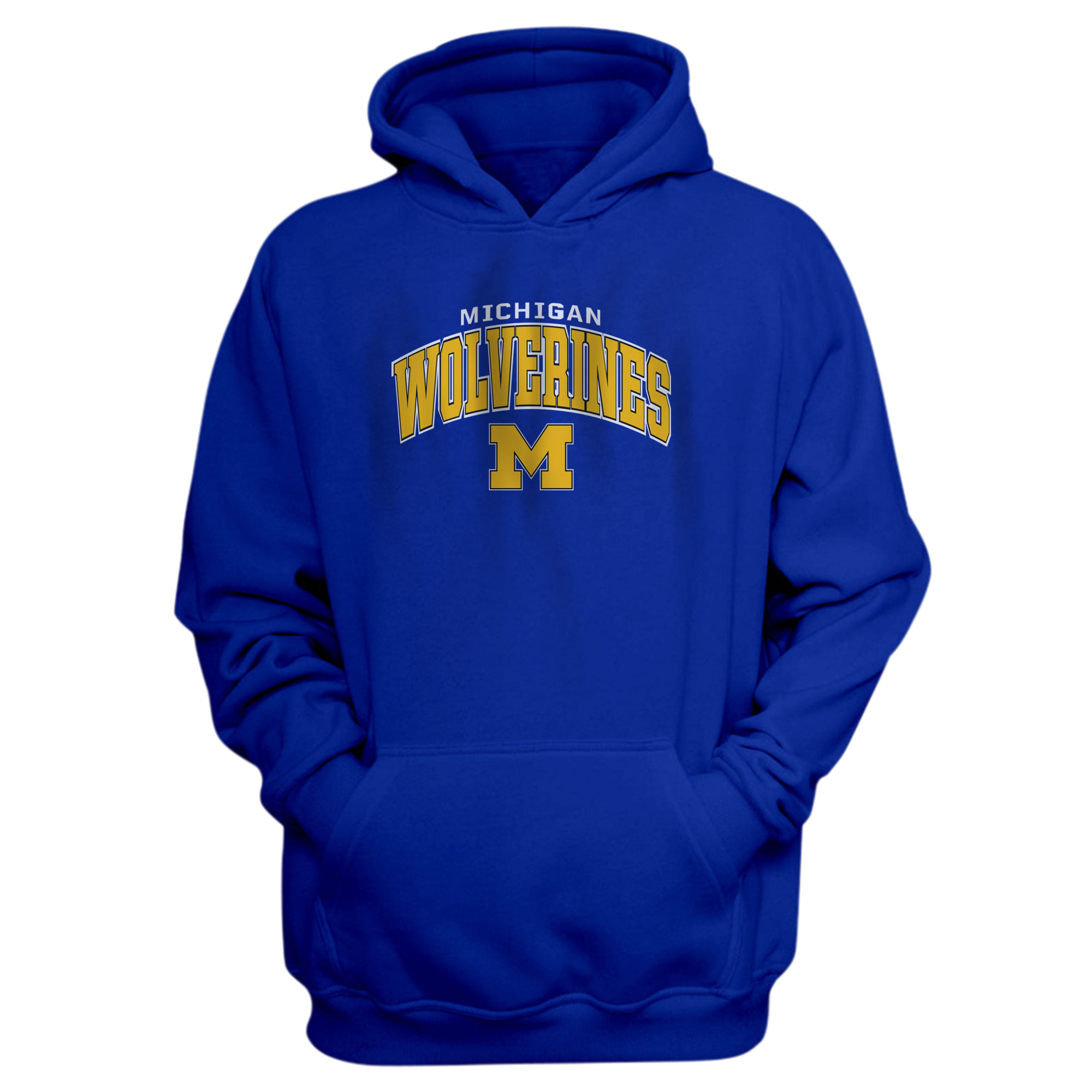 Michigan Wolverines Hoodie (HD-BLC-488-NBA-MNW)