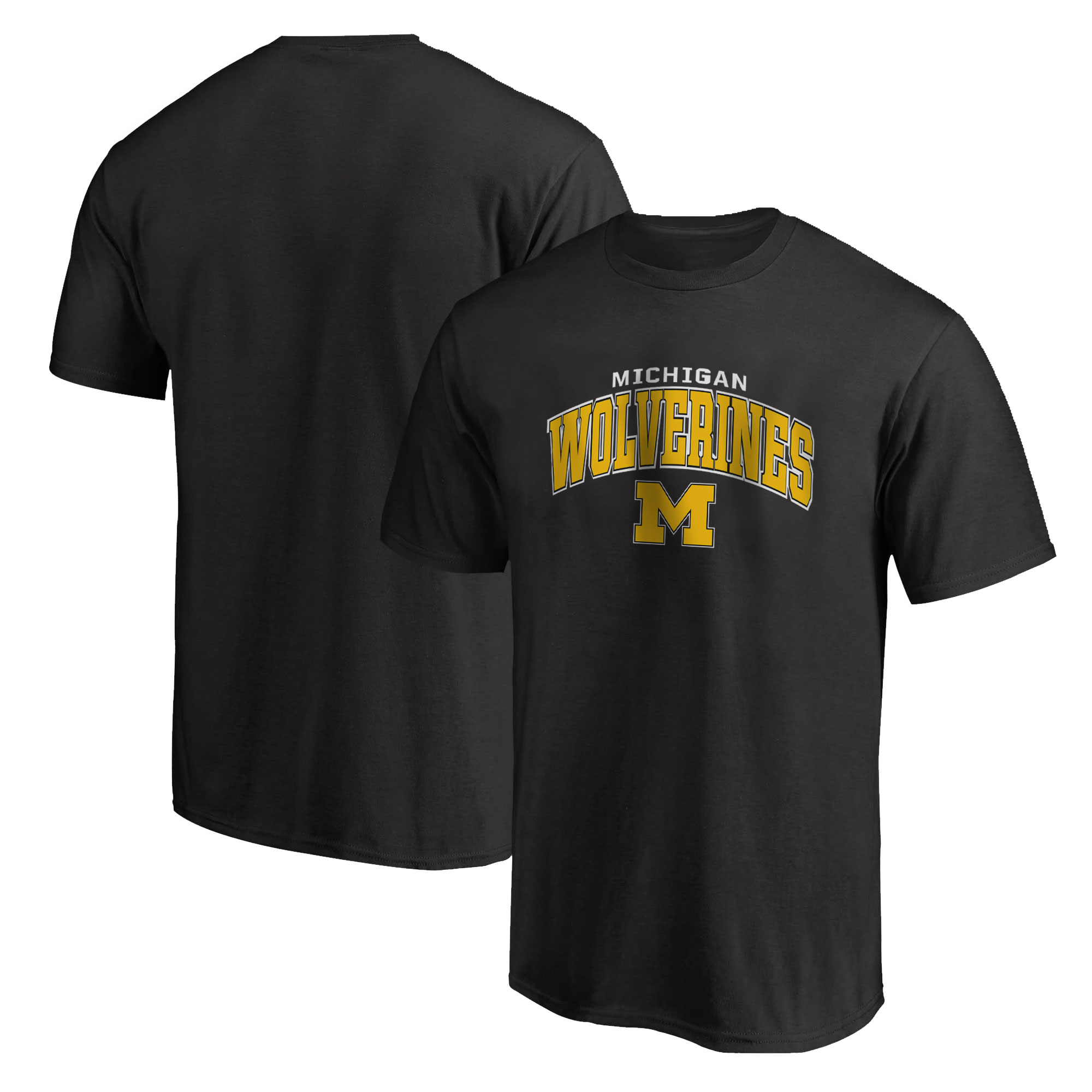 Michigan Wolverines Tshirt (TSH-BLC-488-NBA-MNW)