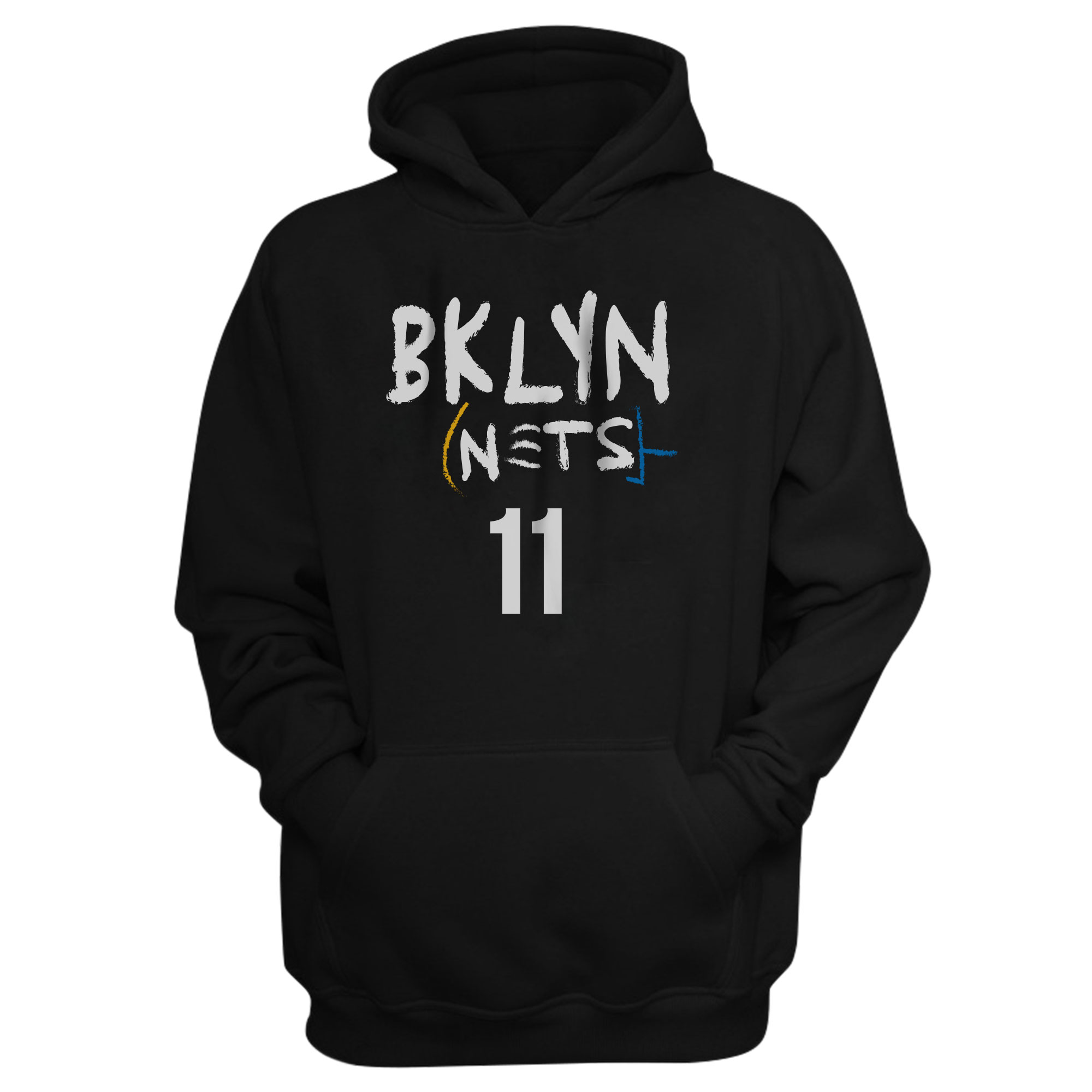 Brooklyn Nets Kyrie Irving Hoodie (HD-BLC-PLT-492-11)