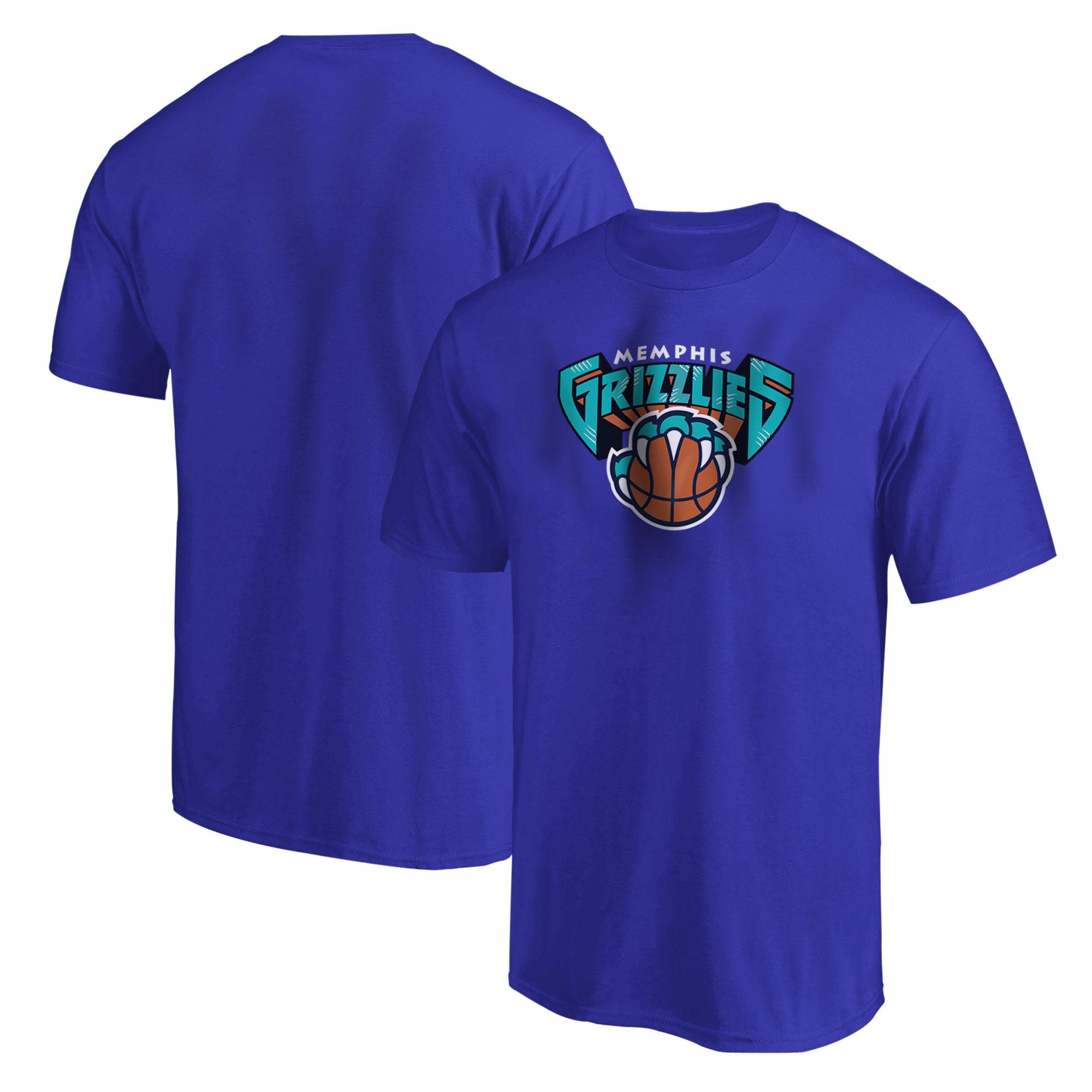 Memphis Grizzlies Tshirt (TSH-BLU-493-NBA-MEMPHIS-GRZ)