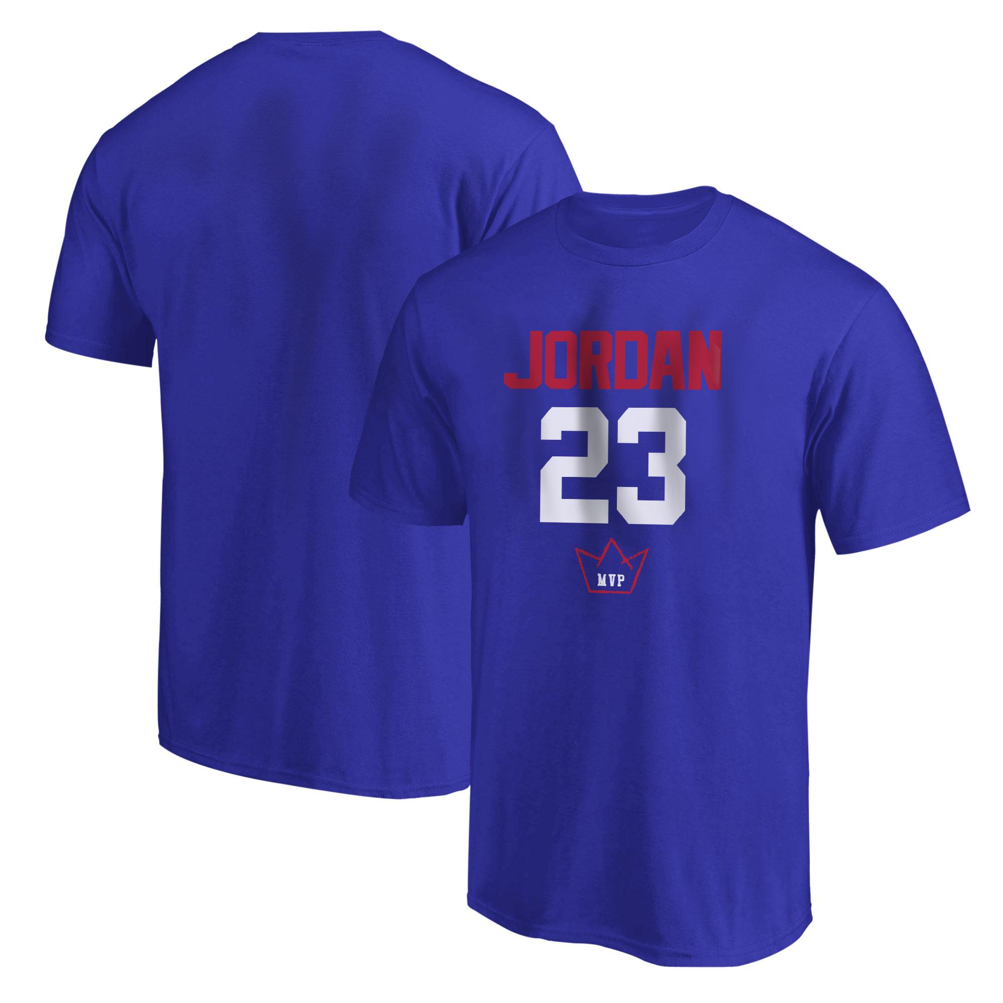 Michael Jordan Tshirt (TSH-BLU-494-PLYR-JRDN-23)