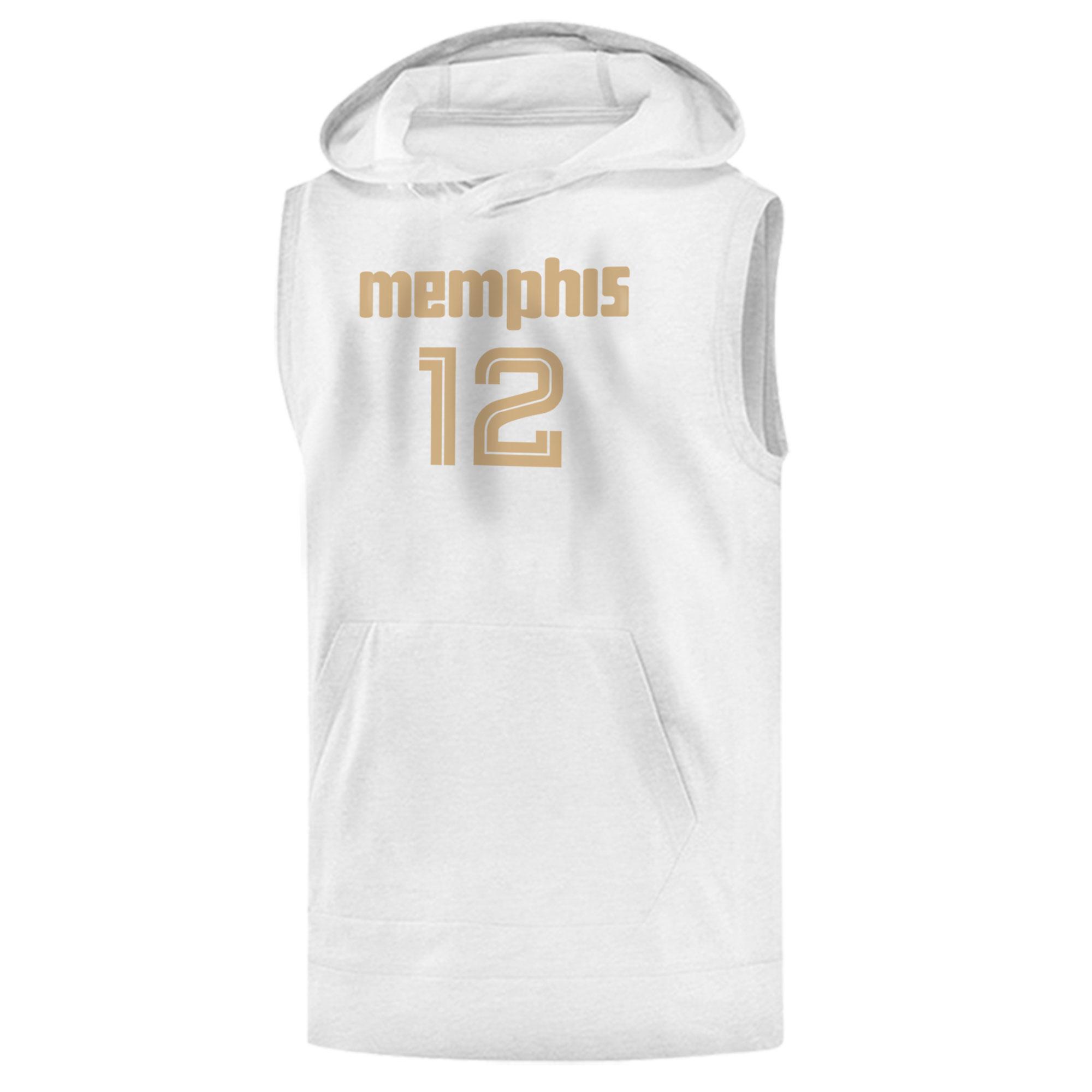 Memphis Grizzlies Ja Morant Sleeveless (KLS-BLC-495-JA-MORANT12)
