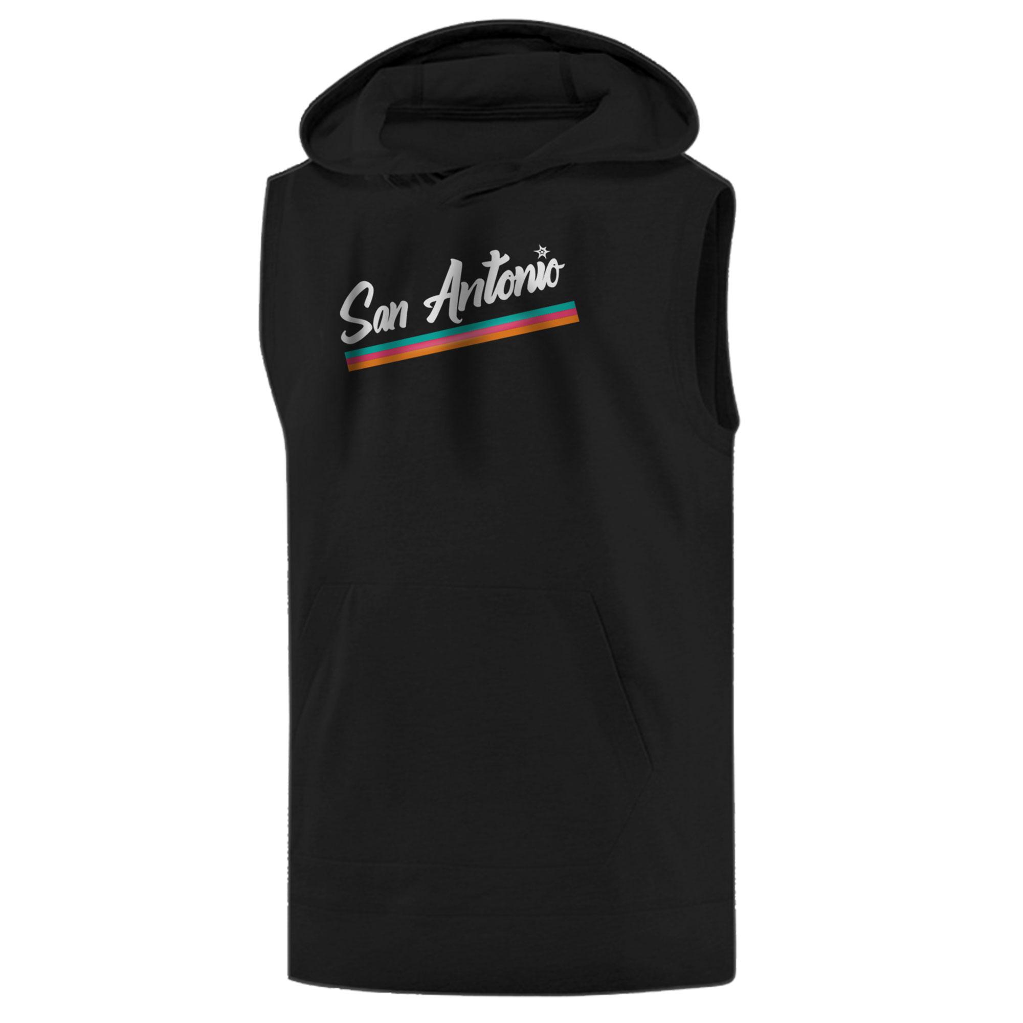 San Antonio Spurs Sleeveless (KLS-GRY-496-NBA-SAS)