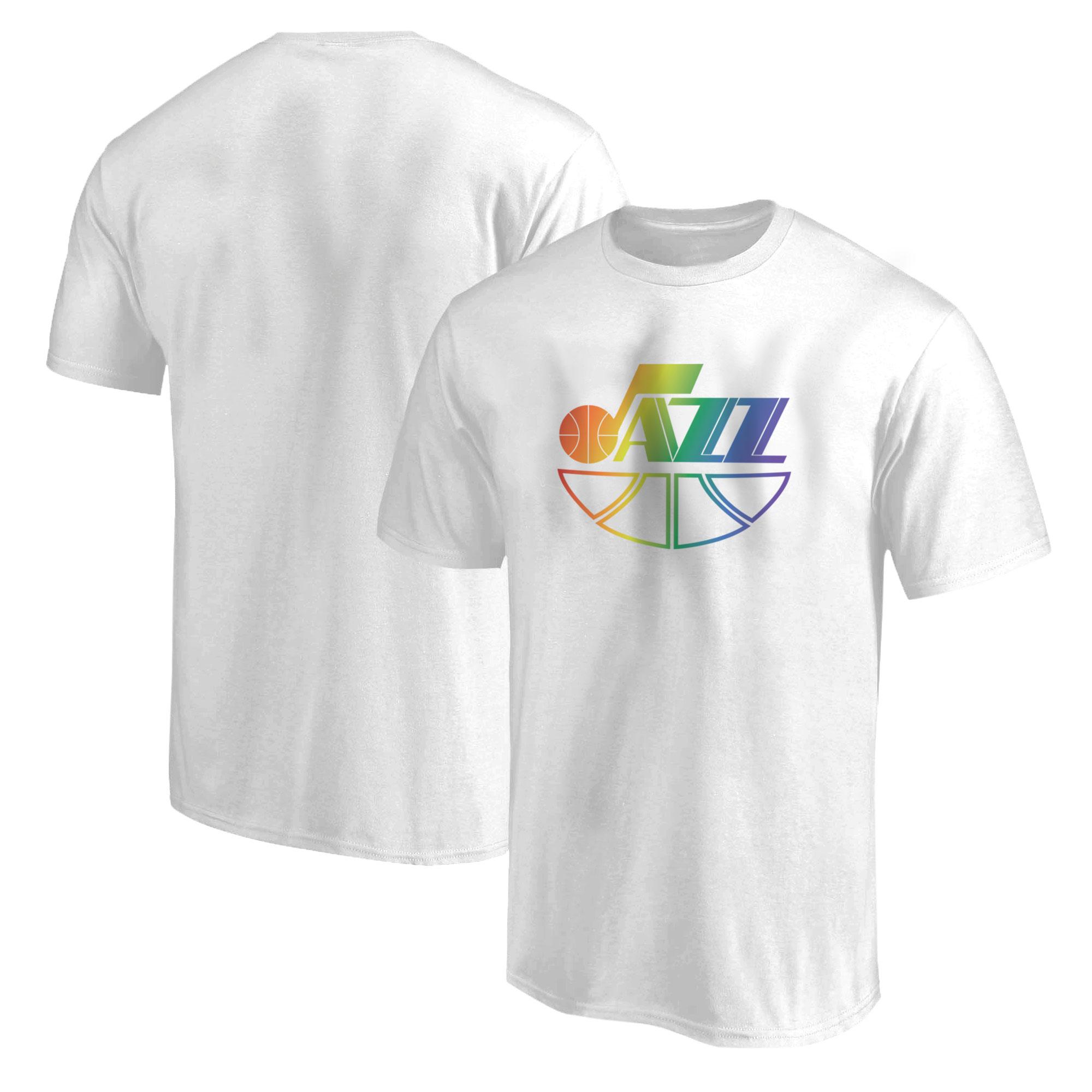 Utah Jazz  Tshirt (TSH-WHT-501-NBA-UTH)