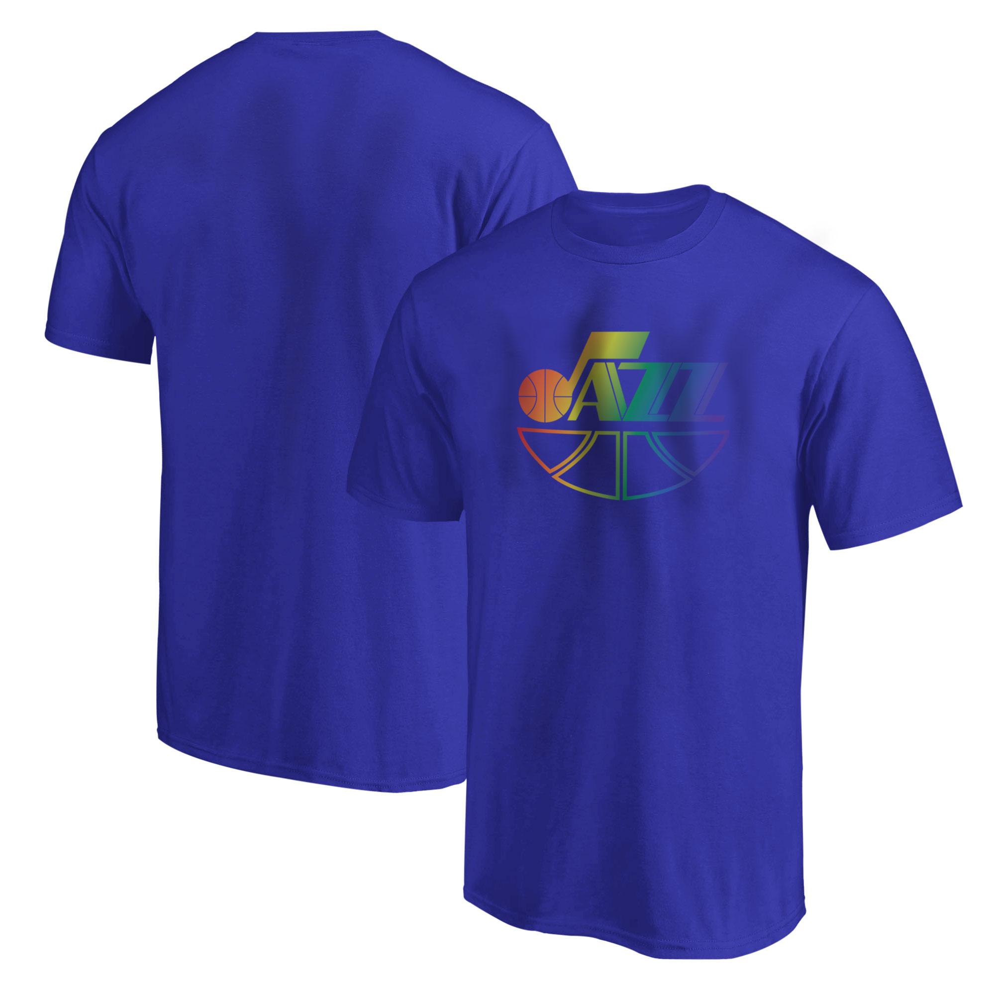 Utah Jazz  Tshirt (TSH-BLU-501-NBA-UTH)