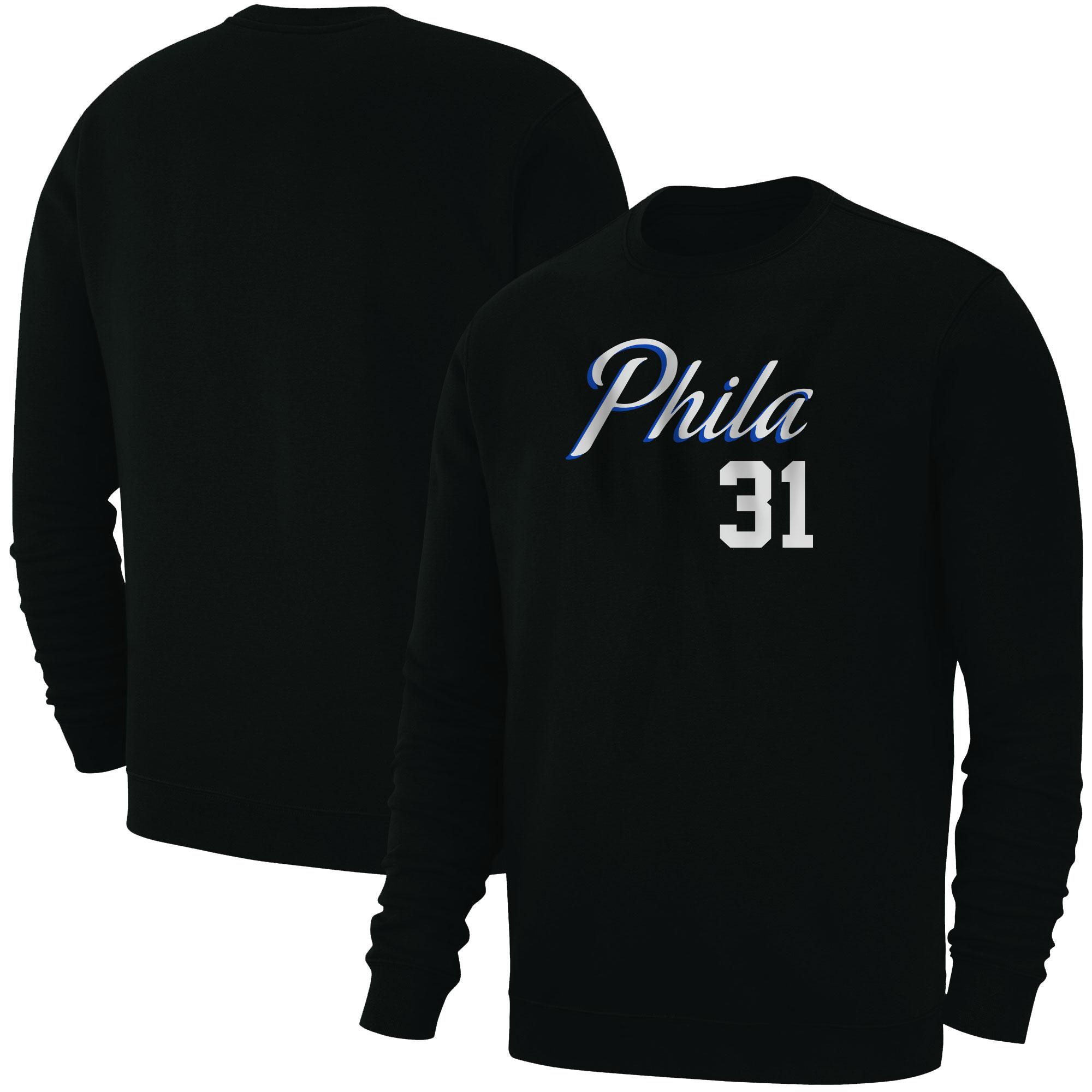 Philadelphia 76ers Seth Curry Basic (BSC-BLC-PLT-504-31)